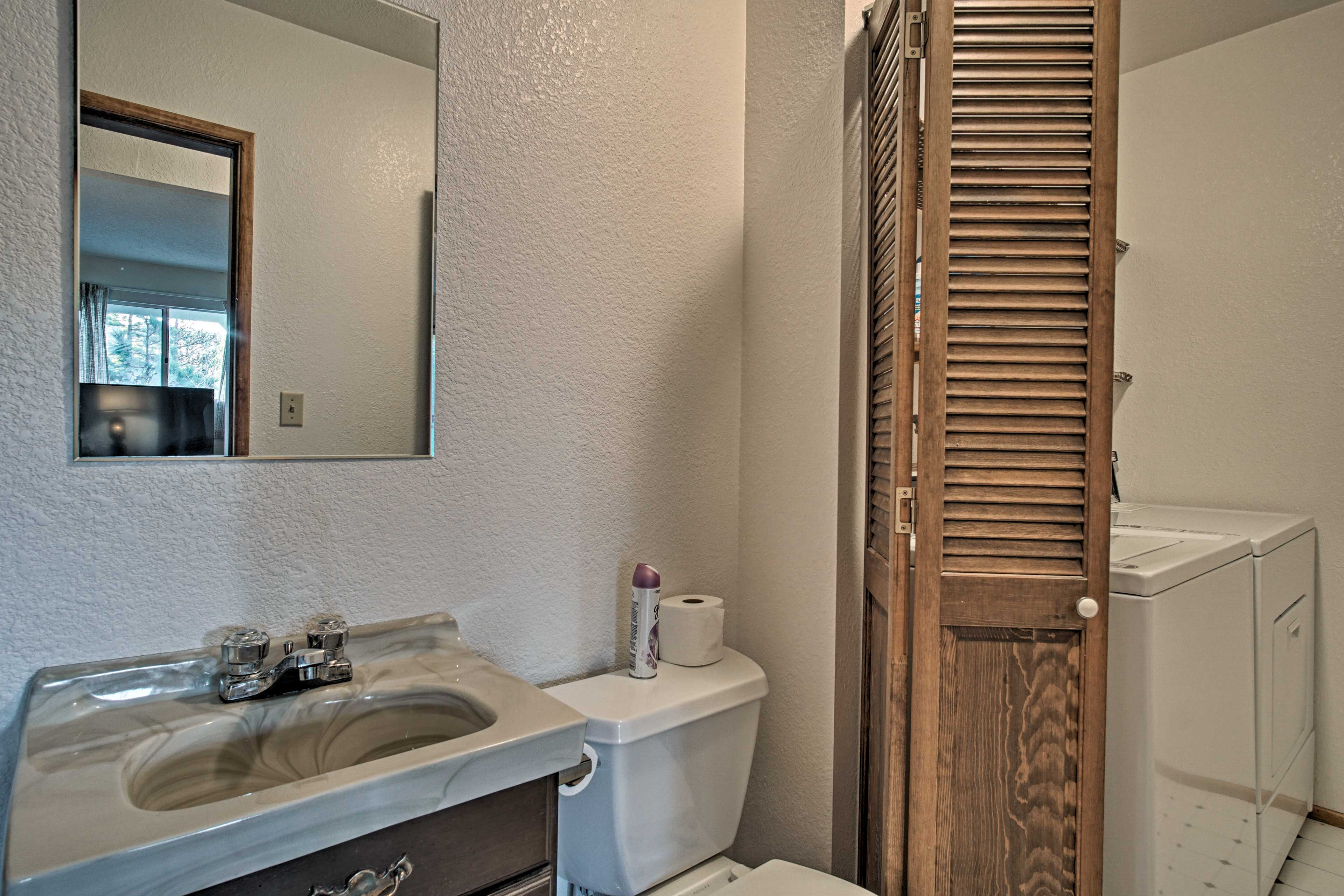 You'll find 2.5 bathrooms in the home.