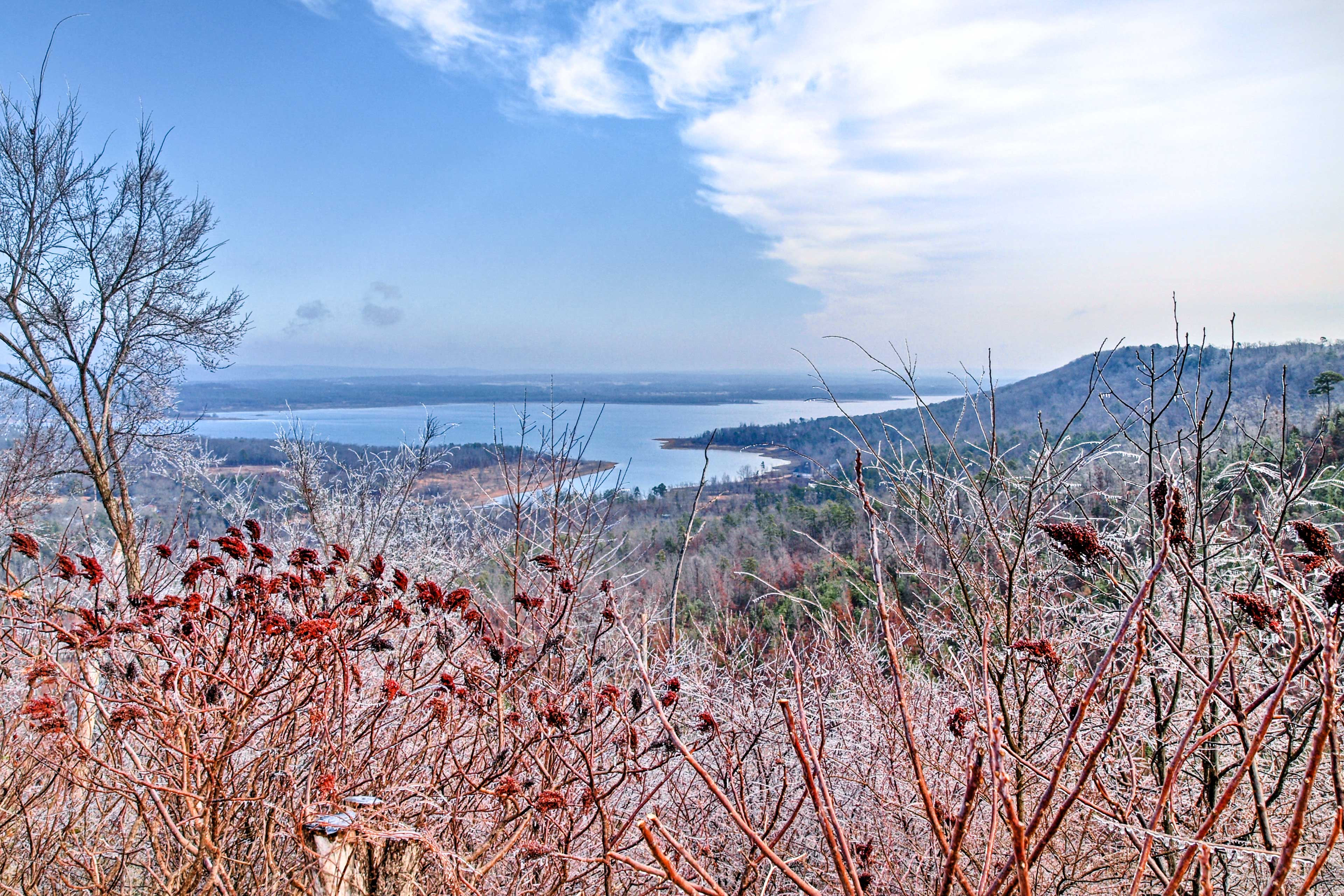 The views are sure to please during your next Arkansas retreat!