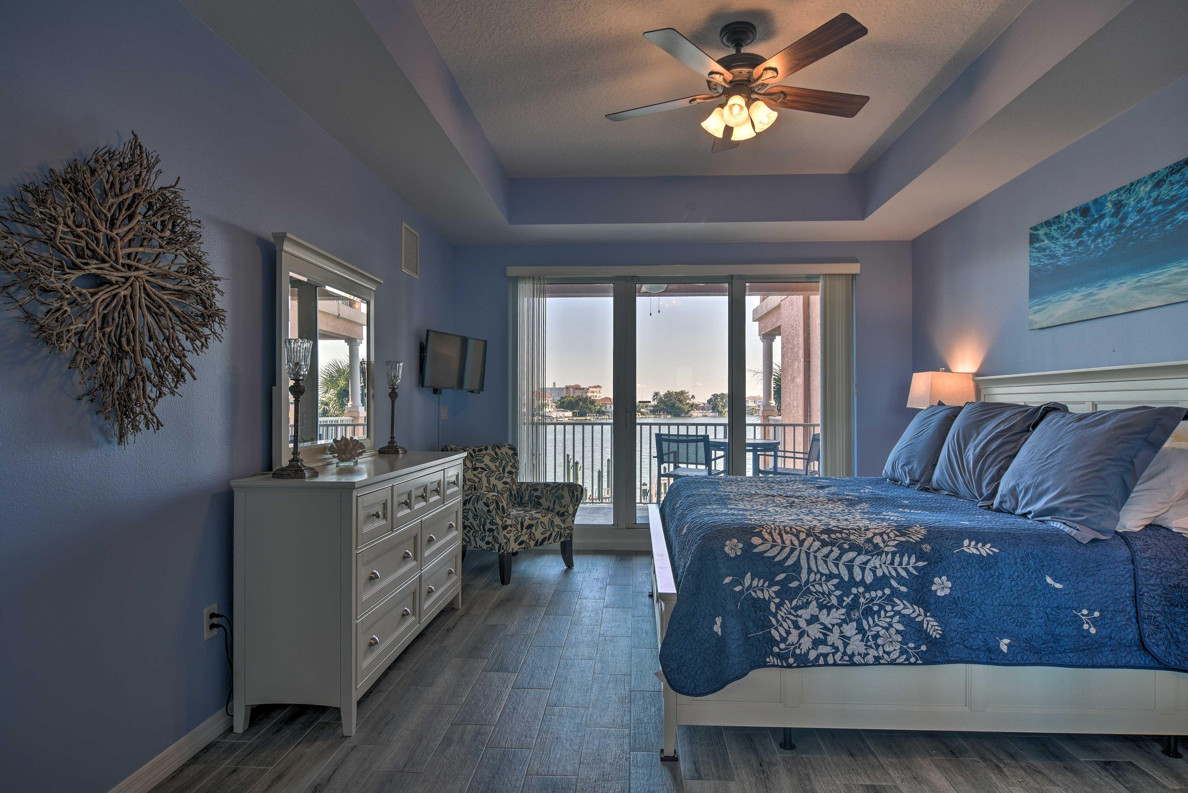 Bedroom | Clearwater Bay Views