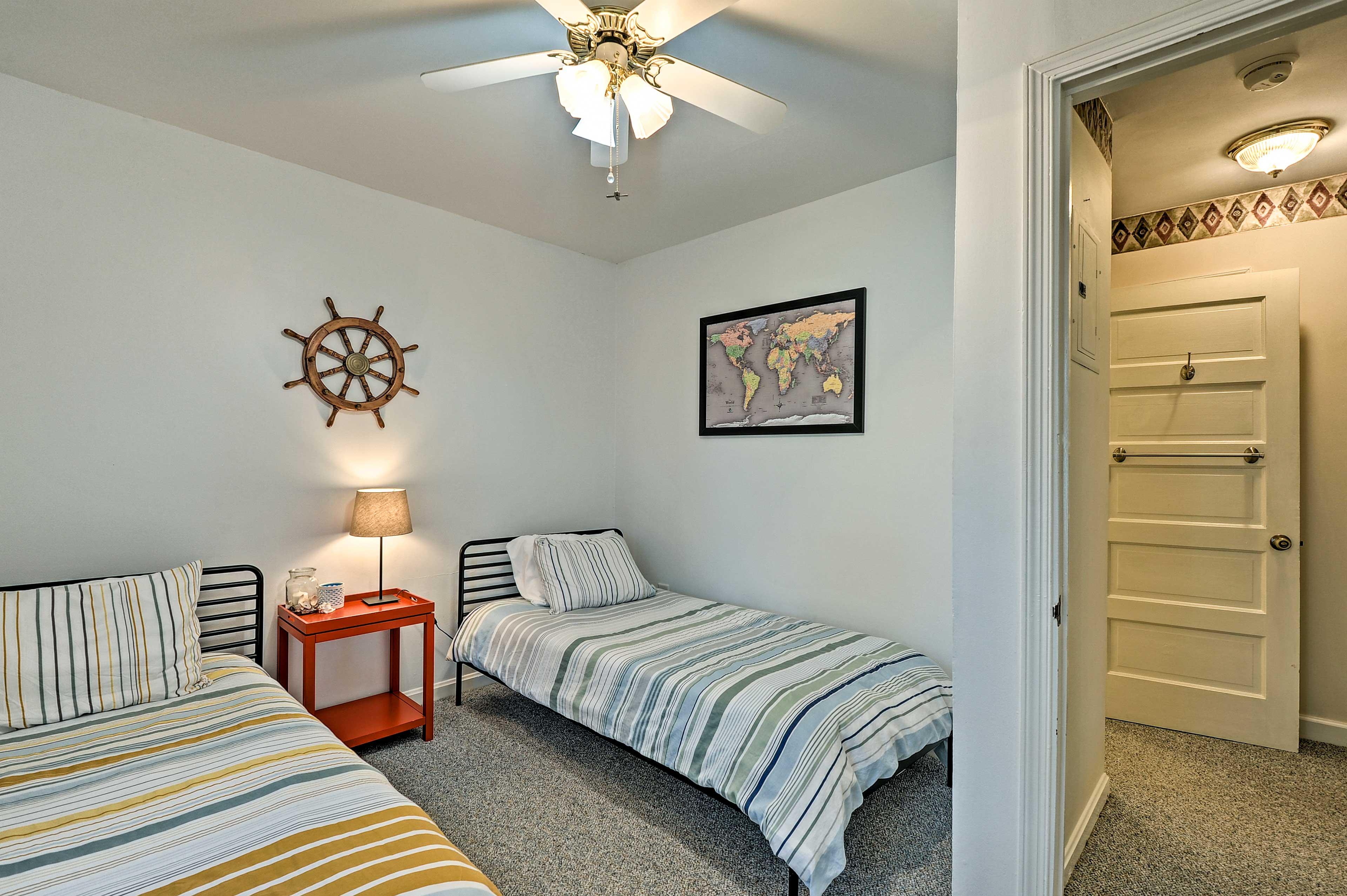Bedroom 4   2 Twin Beds