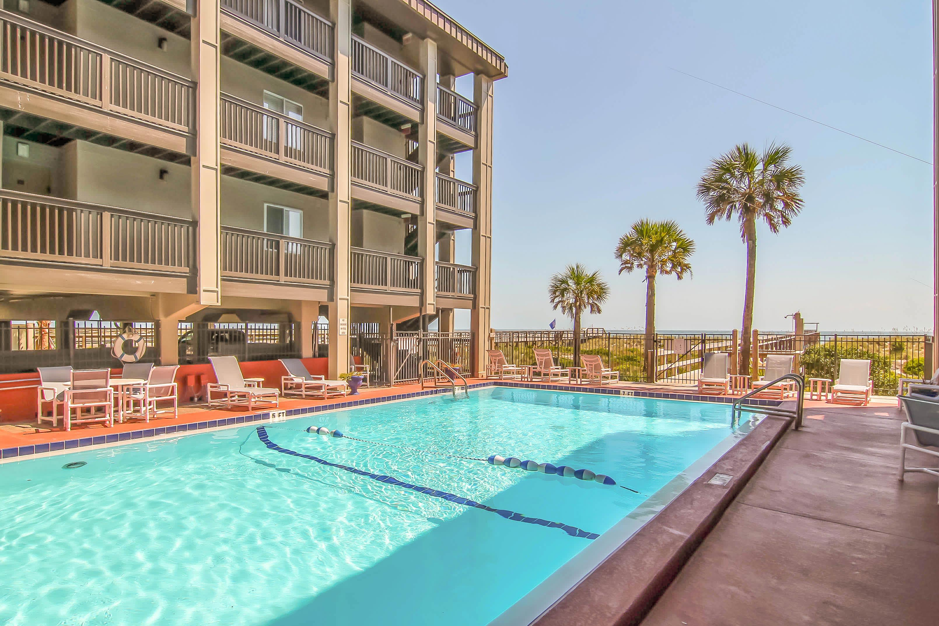 Soak up the sun by the community pool!