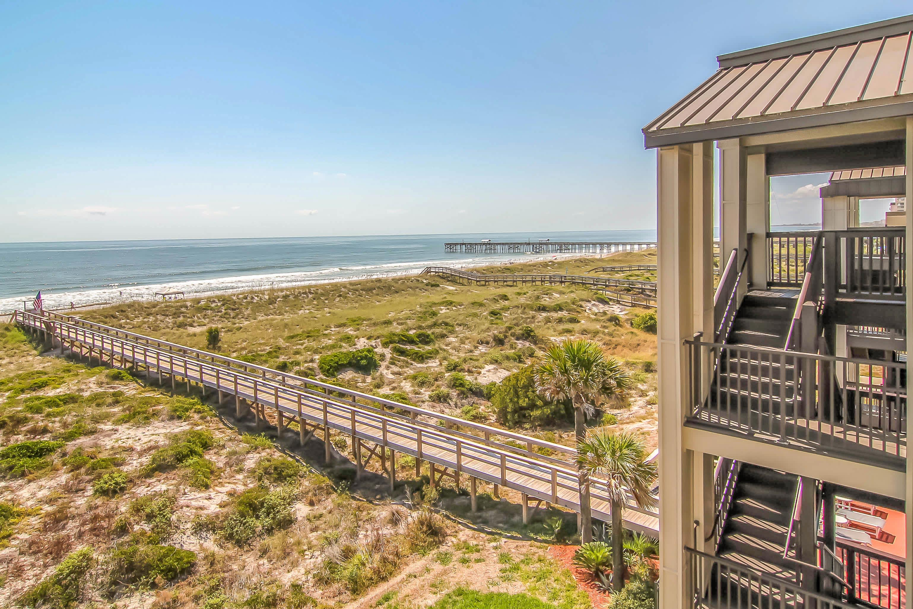 You'll love the unobstructed ocean views.