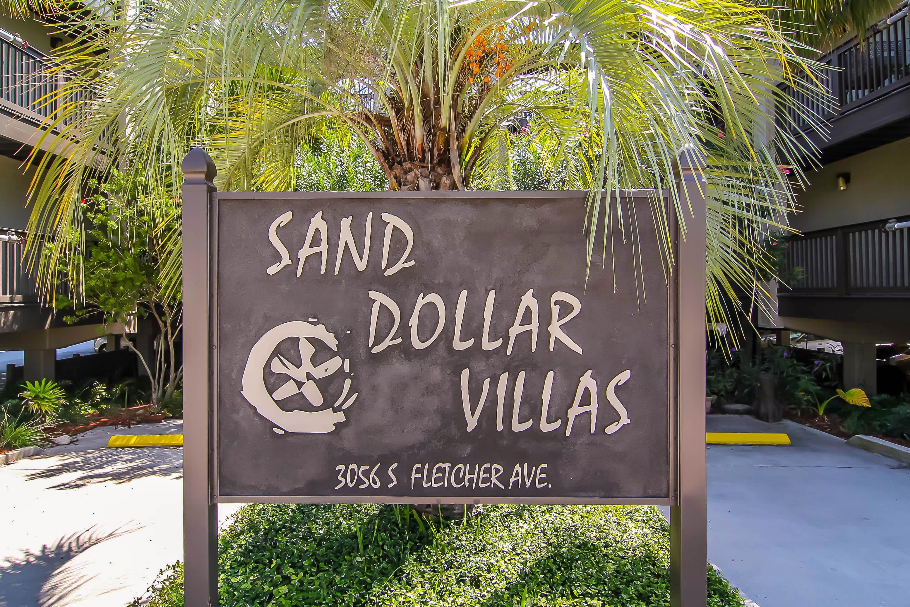 This villa is located in the Sand Dollar Villas resort.