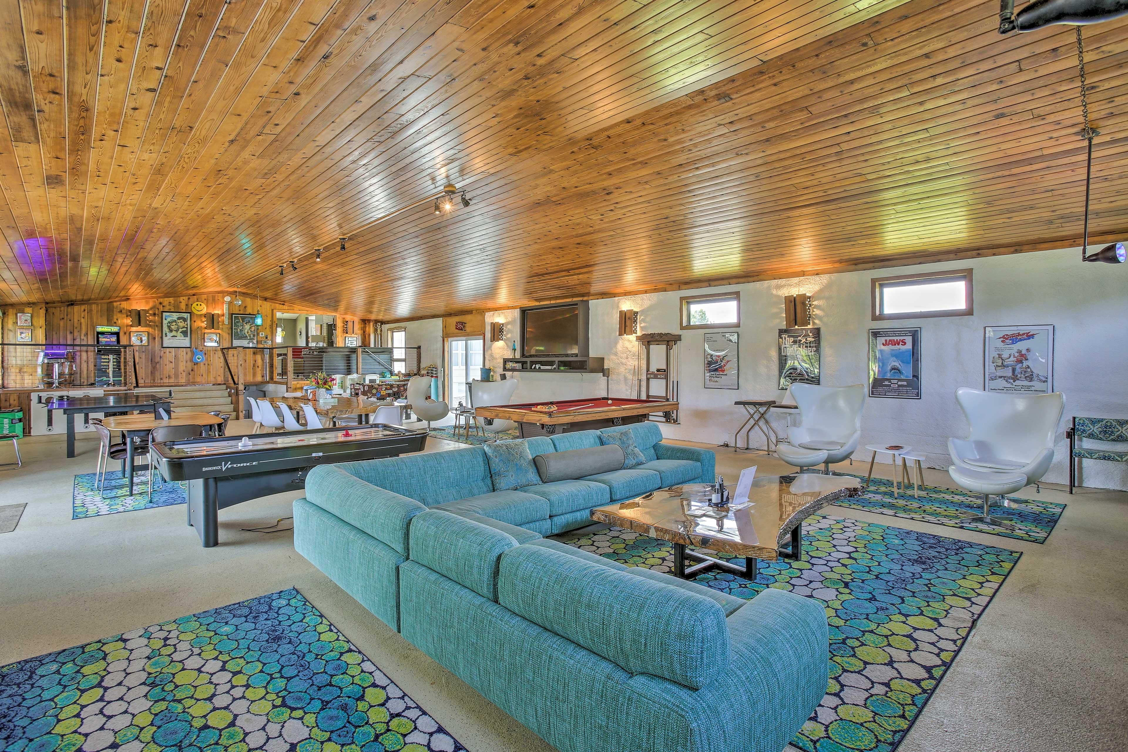 Traverse City Vacation Rental | 3BR | 4BA | Tiny Home w/ Loft +1BA | 4,000 Sq Ft