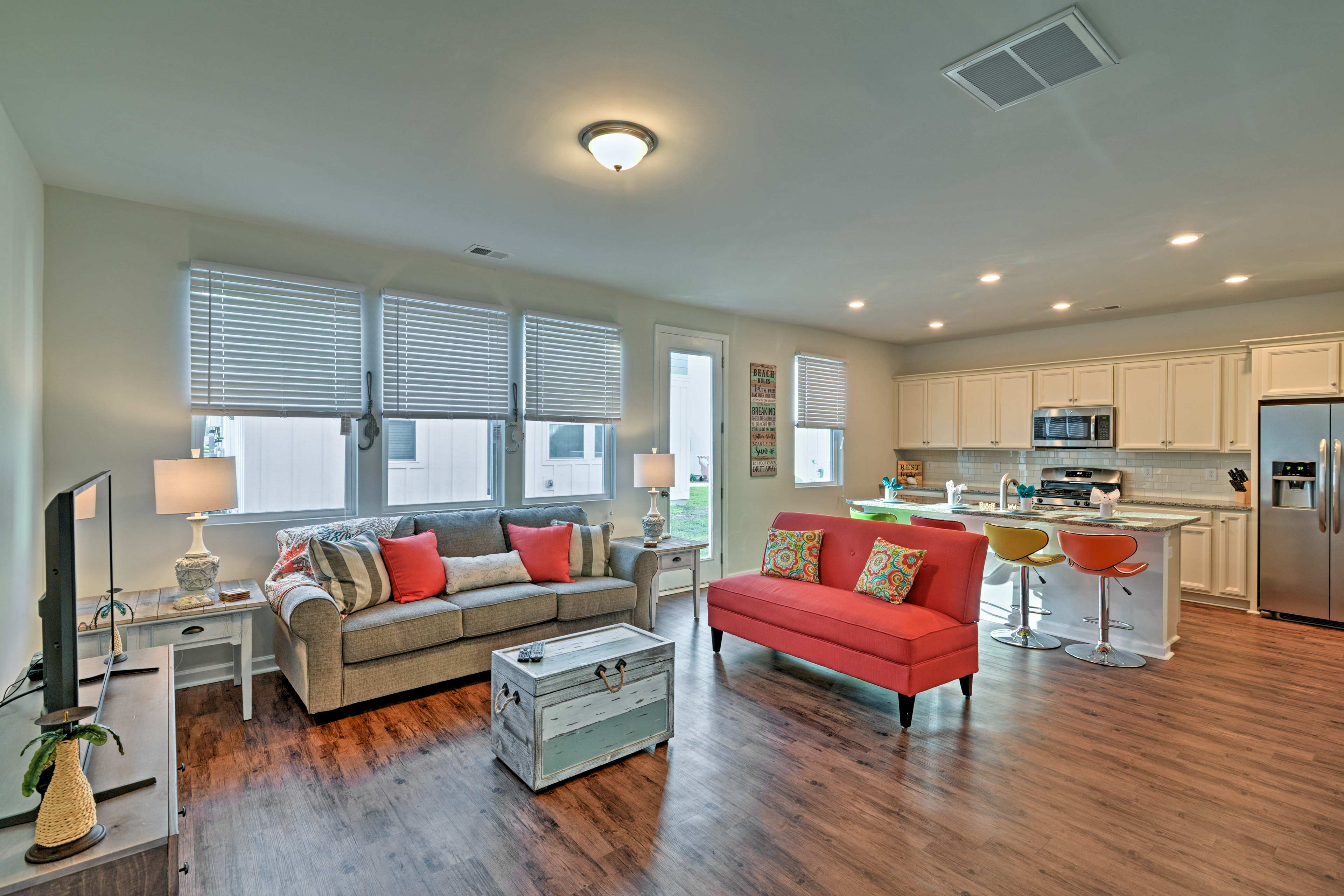 Live like a local at this vacation rental house in Myrtle Beach!