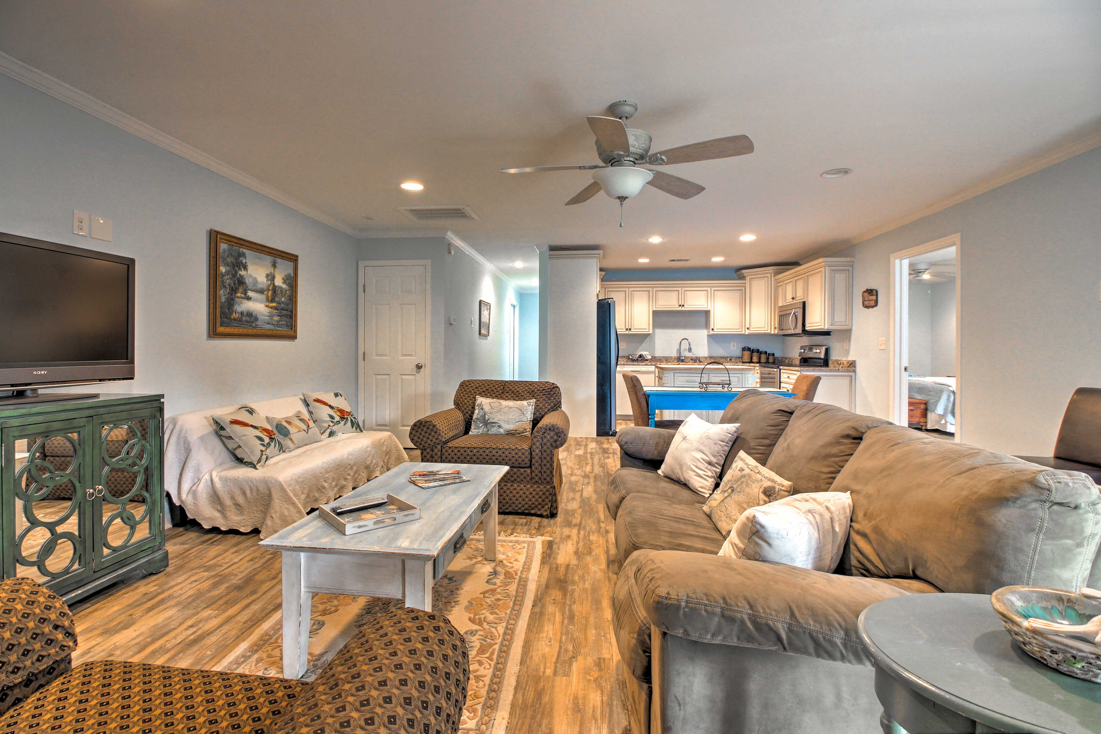 Stay at this charming vacation rental apartment for your next Savannah sojourn!