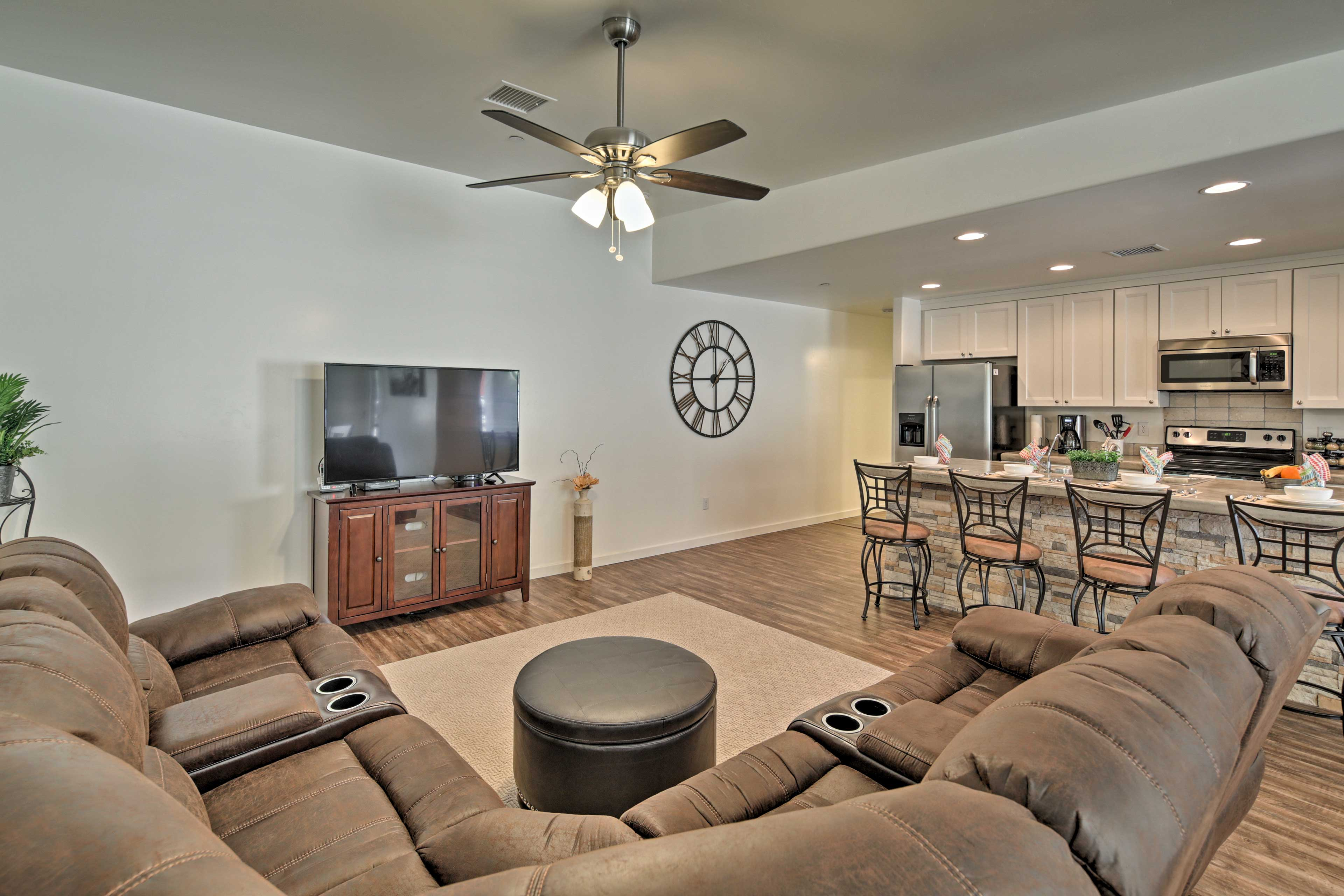 The open-concept layout creates a light and airy atmosphere that you'll love.
