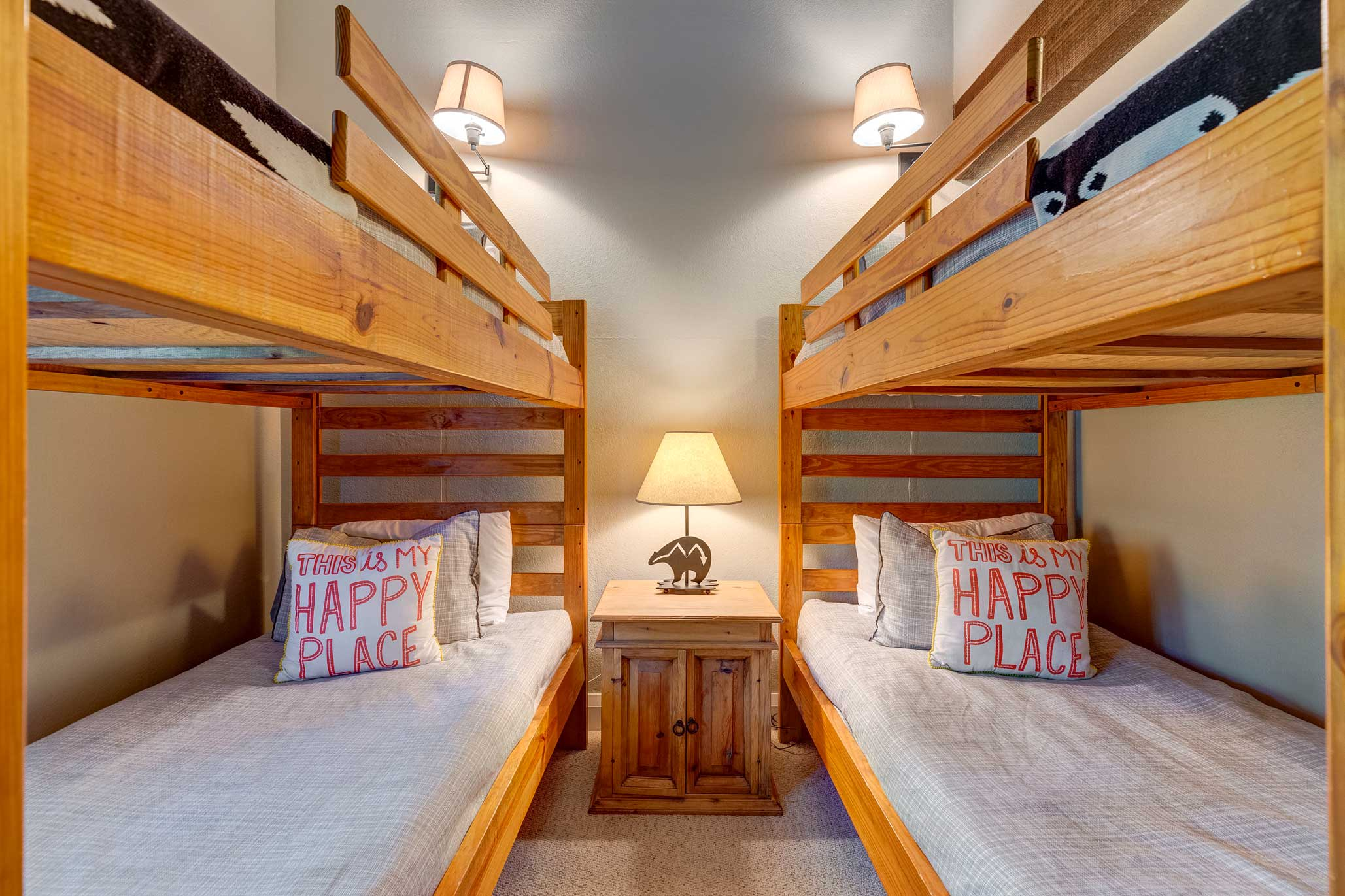 Kids will love sharing this room!