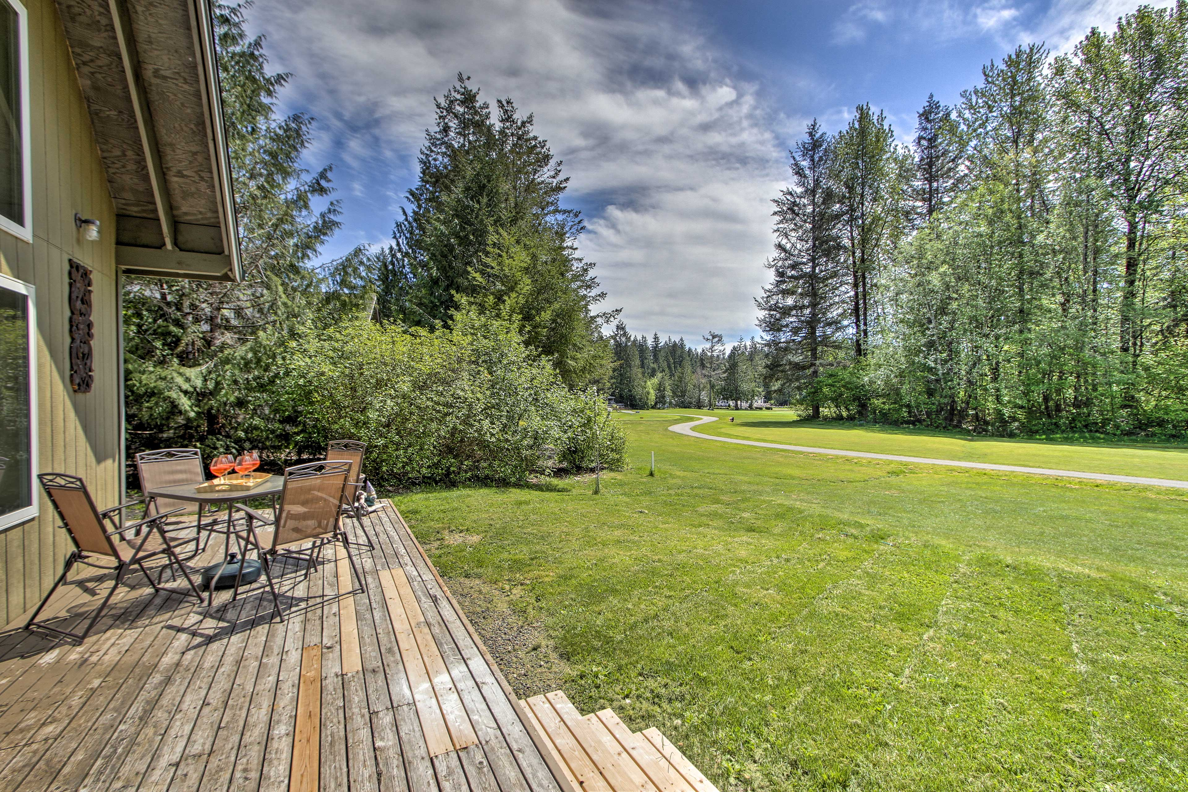 This Hoodsport vacation rental home is sure to make you feel relaxed!