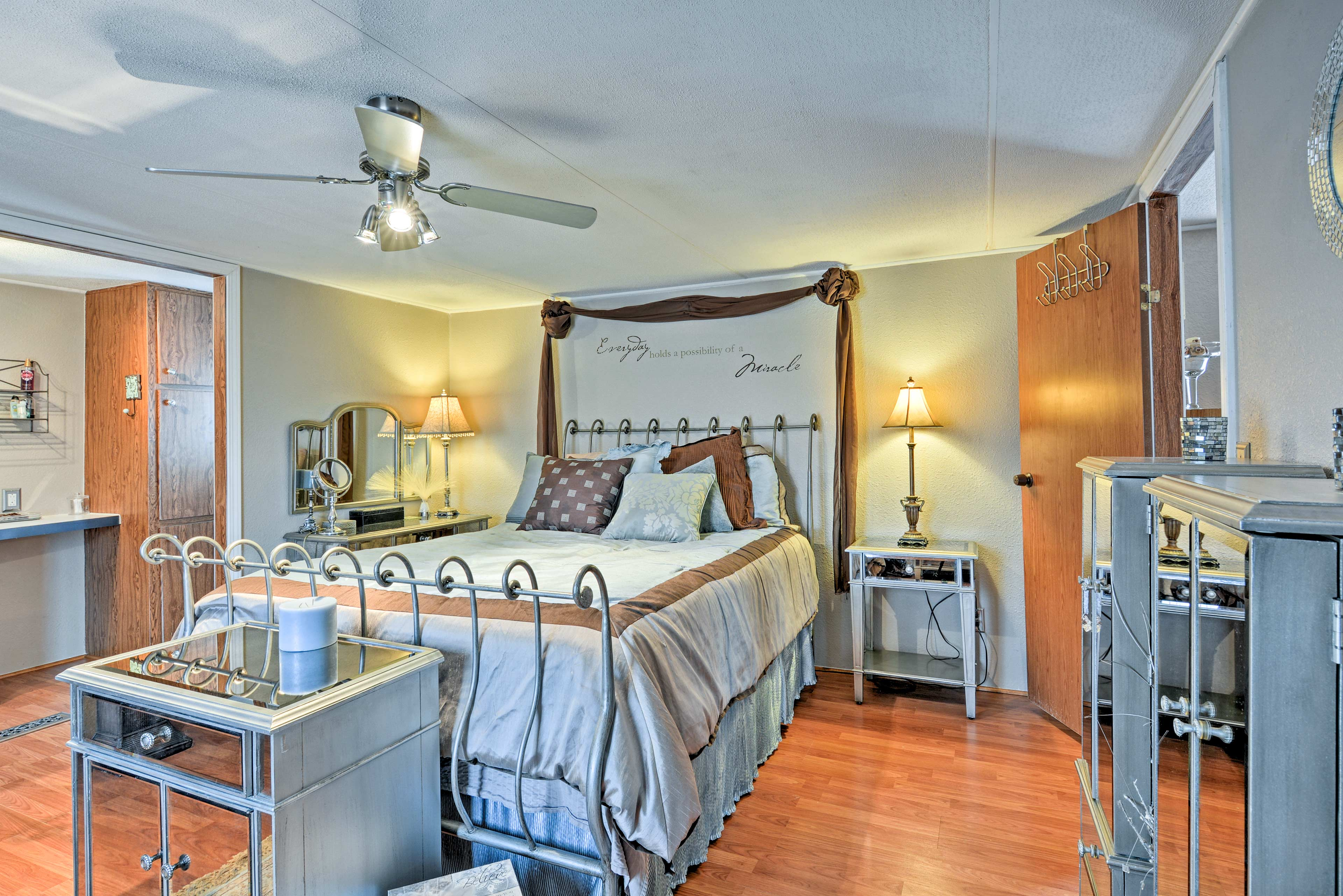 When bedtime calls, retreat to one of the 3 bedrooms sleeping up to 6 guests.