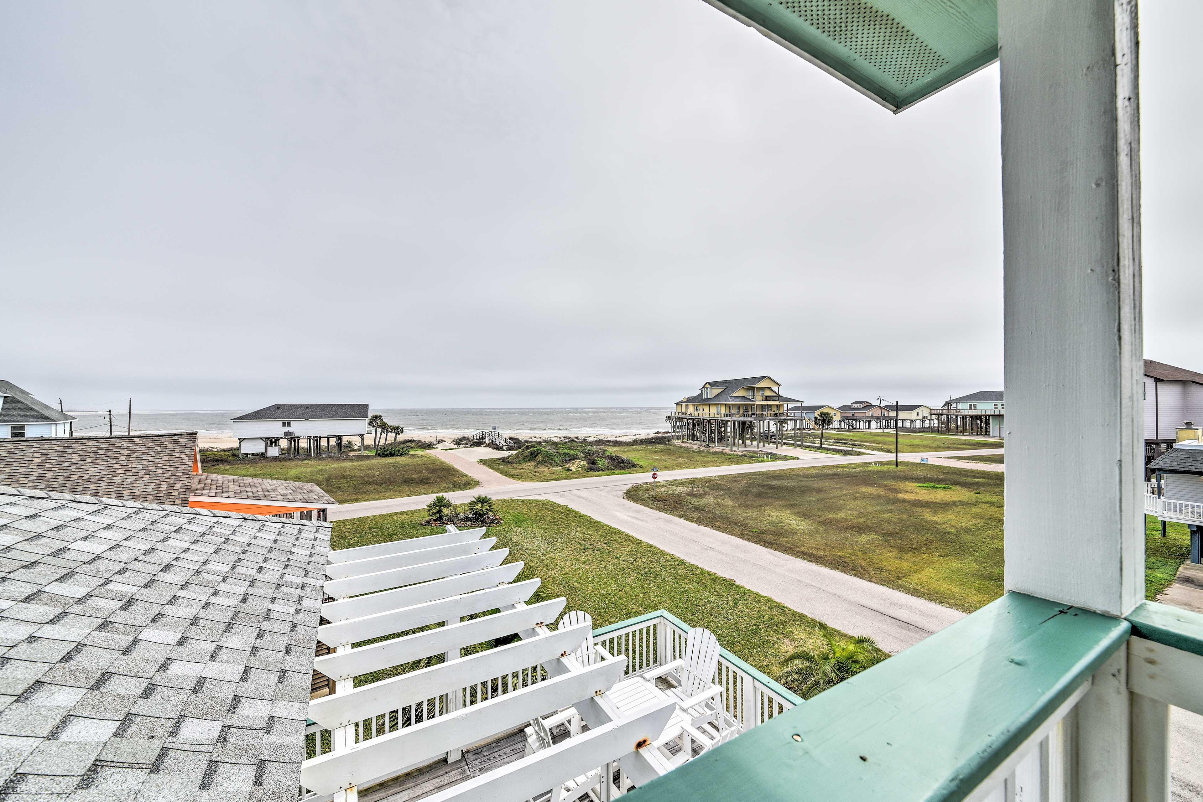 Private Balcony   Gulf of Mexico Views