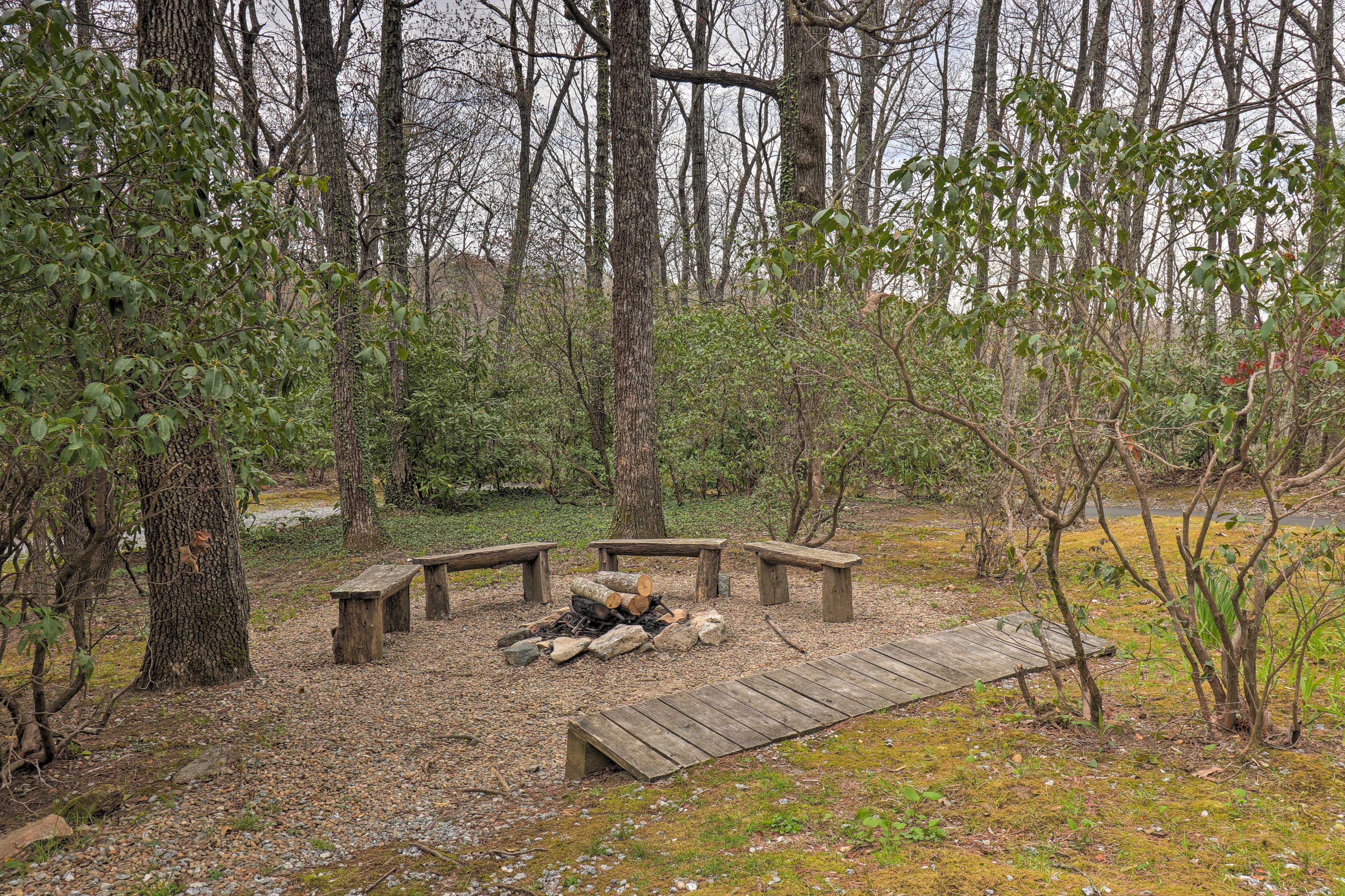 Exterior   Wood-Burning Fire Pit