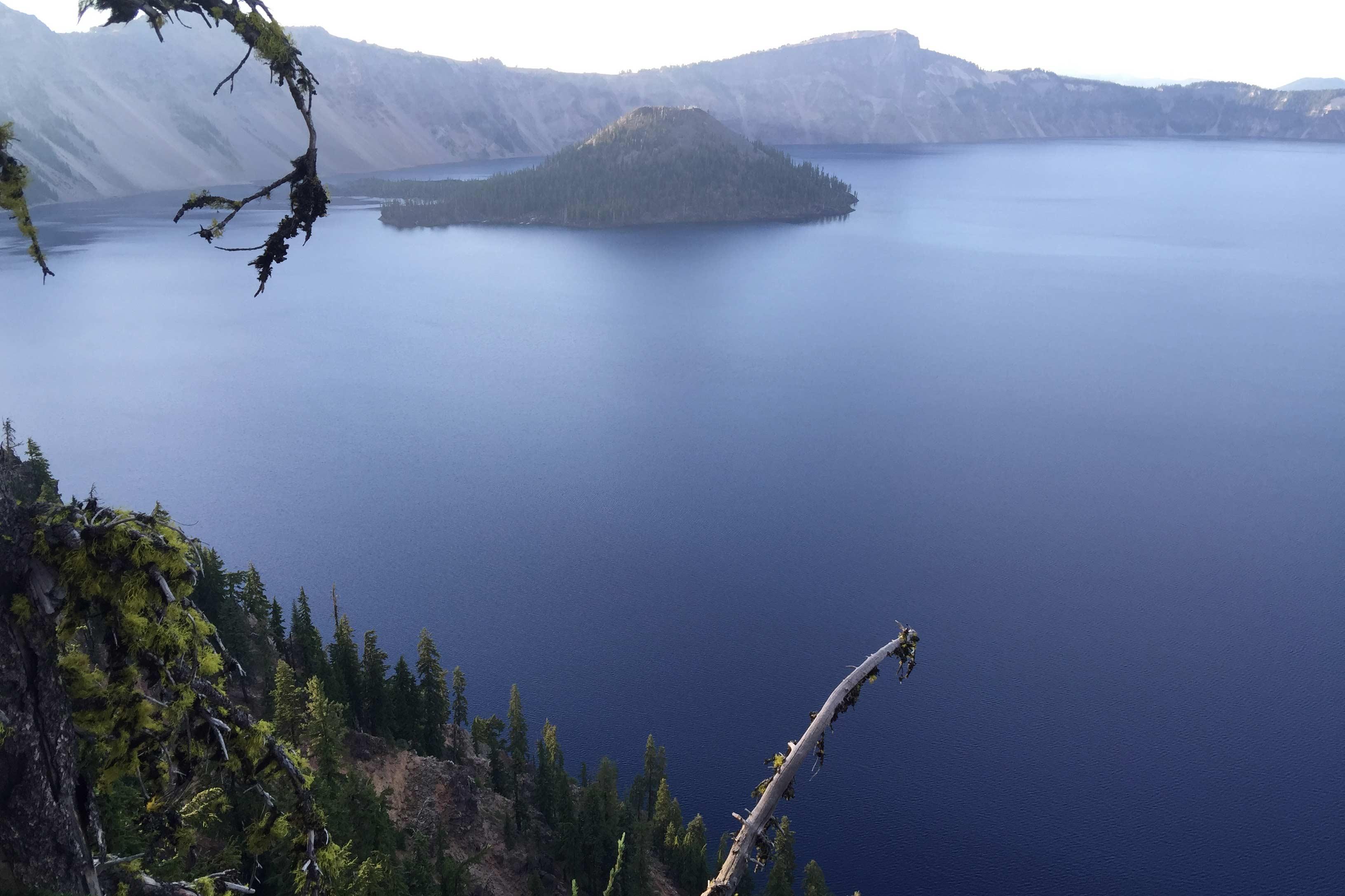 Crater Lake - the deepest lake in the US - lies just 37 miles away.