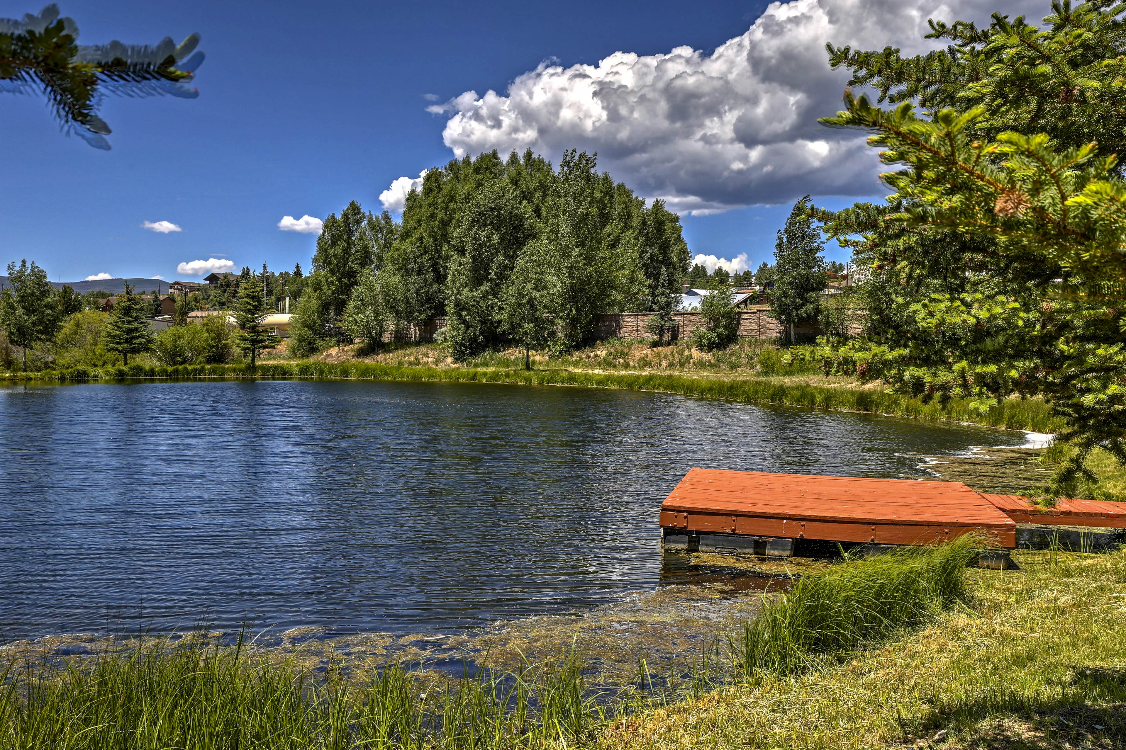 Soak up the Colorado sunshine from this vacation rental getaway!