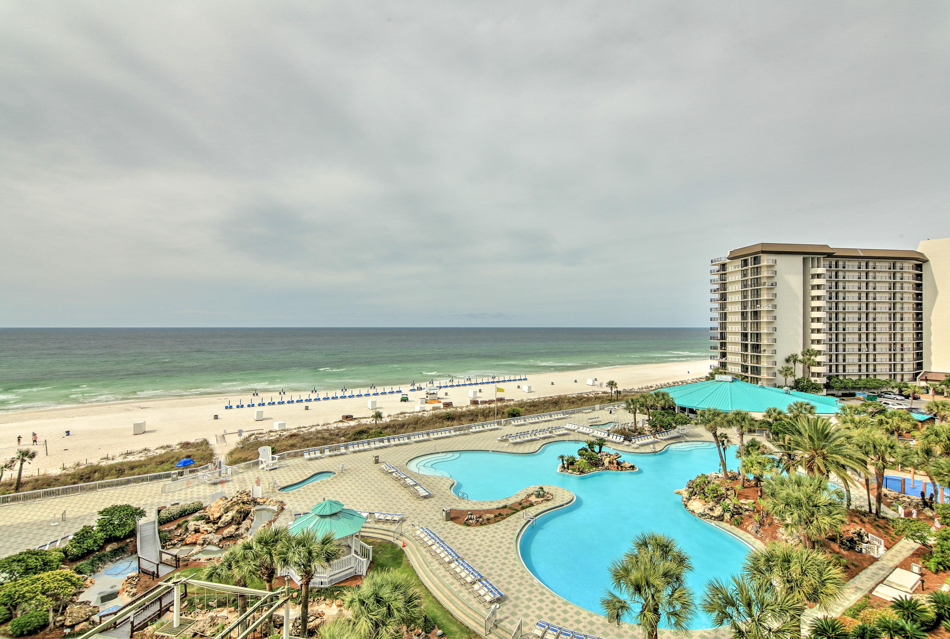 Take full advantage of Edgewater Beach Resort's countless amenities!