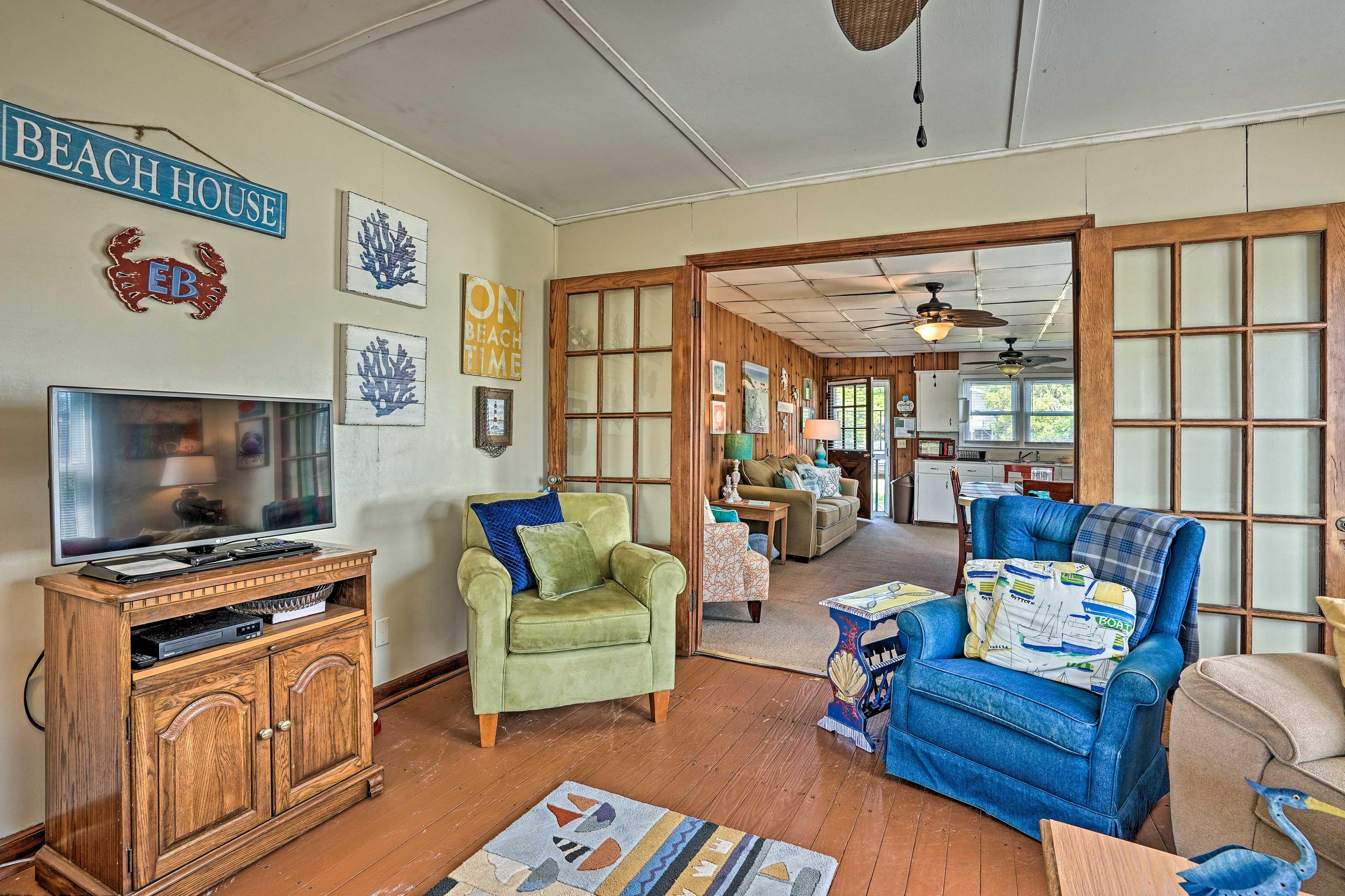 Living Room   Beach Decor