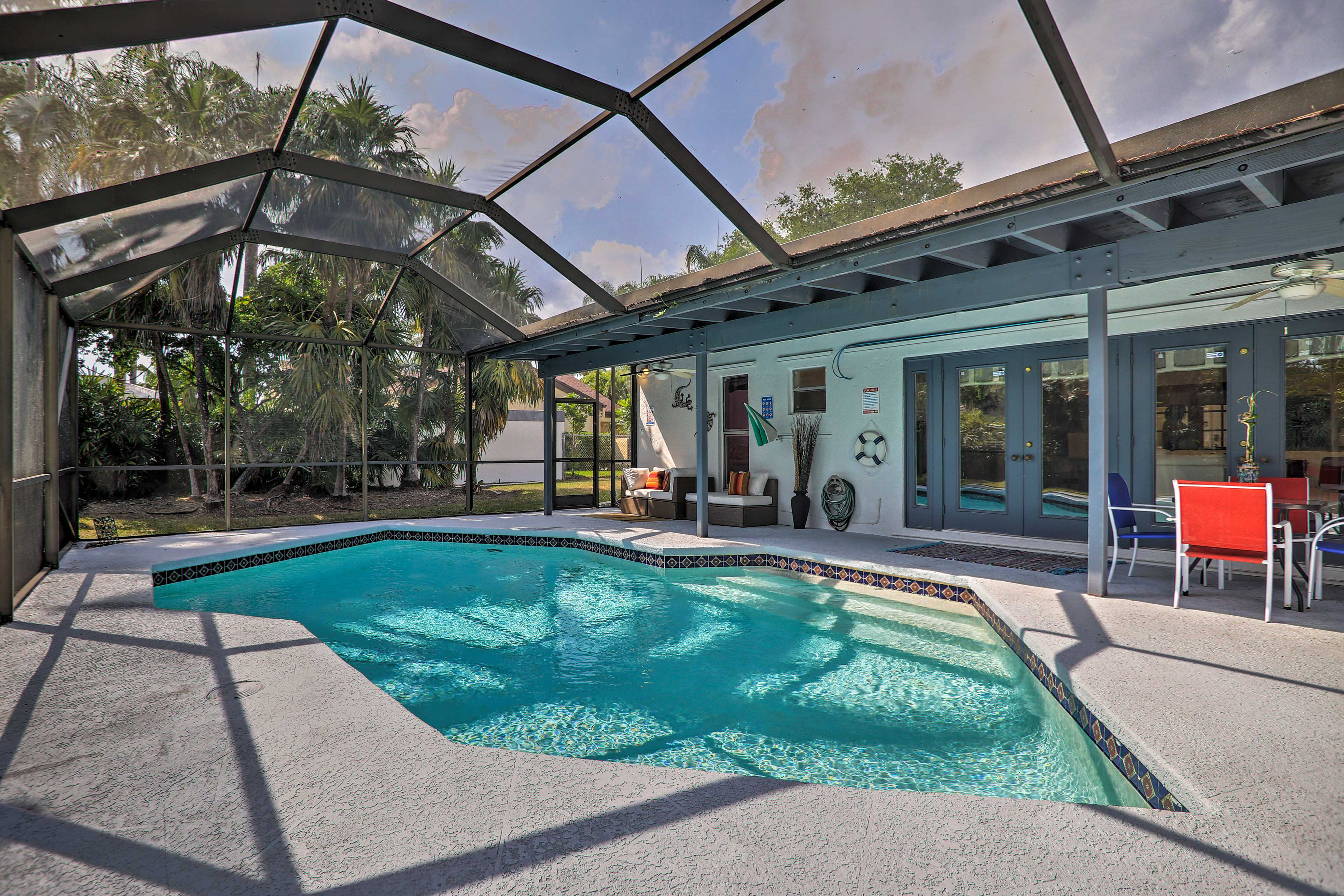 Enjoy Miami from the comfort of this 2-bedroom, 1-bathroom vacation rental home.