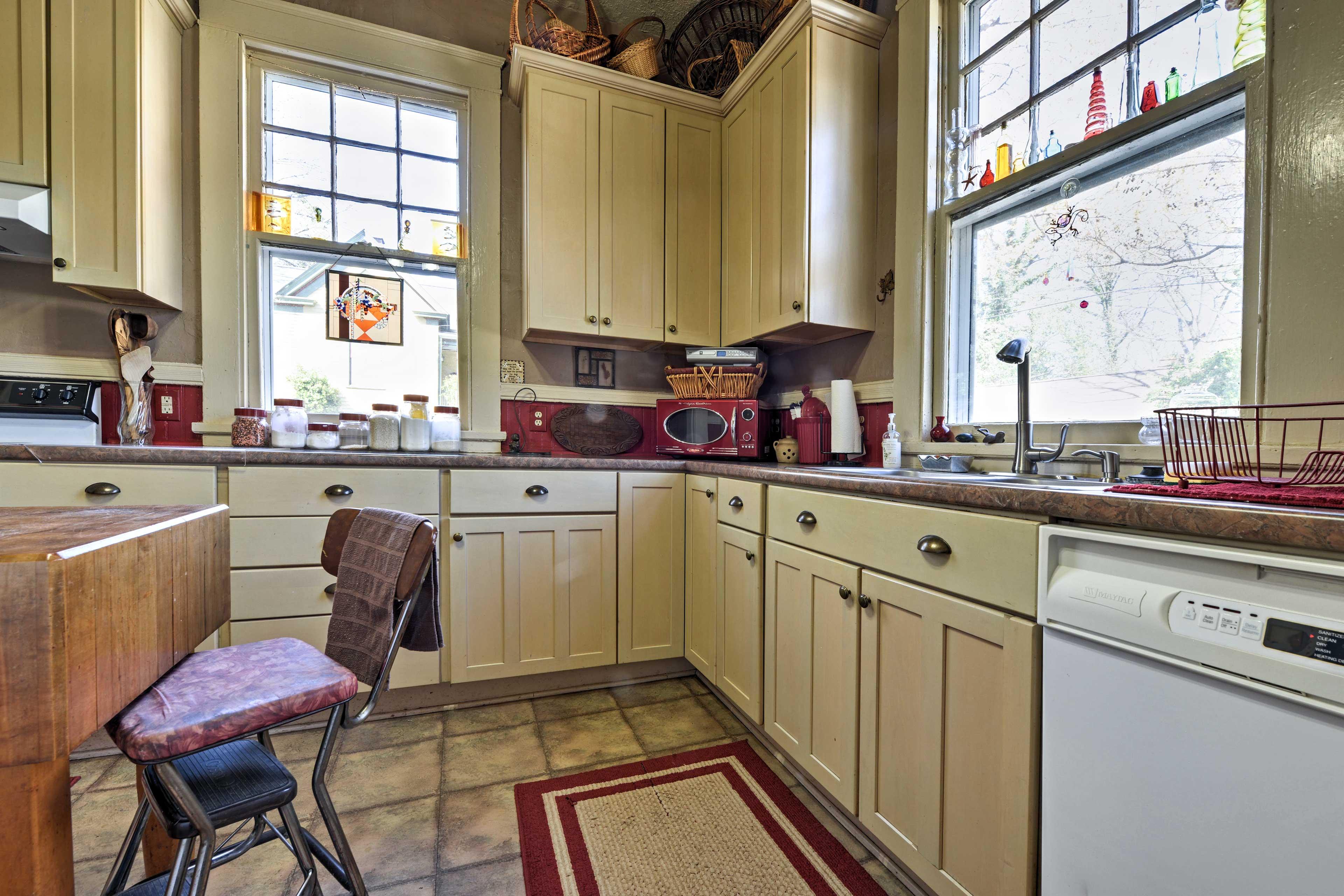 Prepare meals using modern appliances!