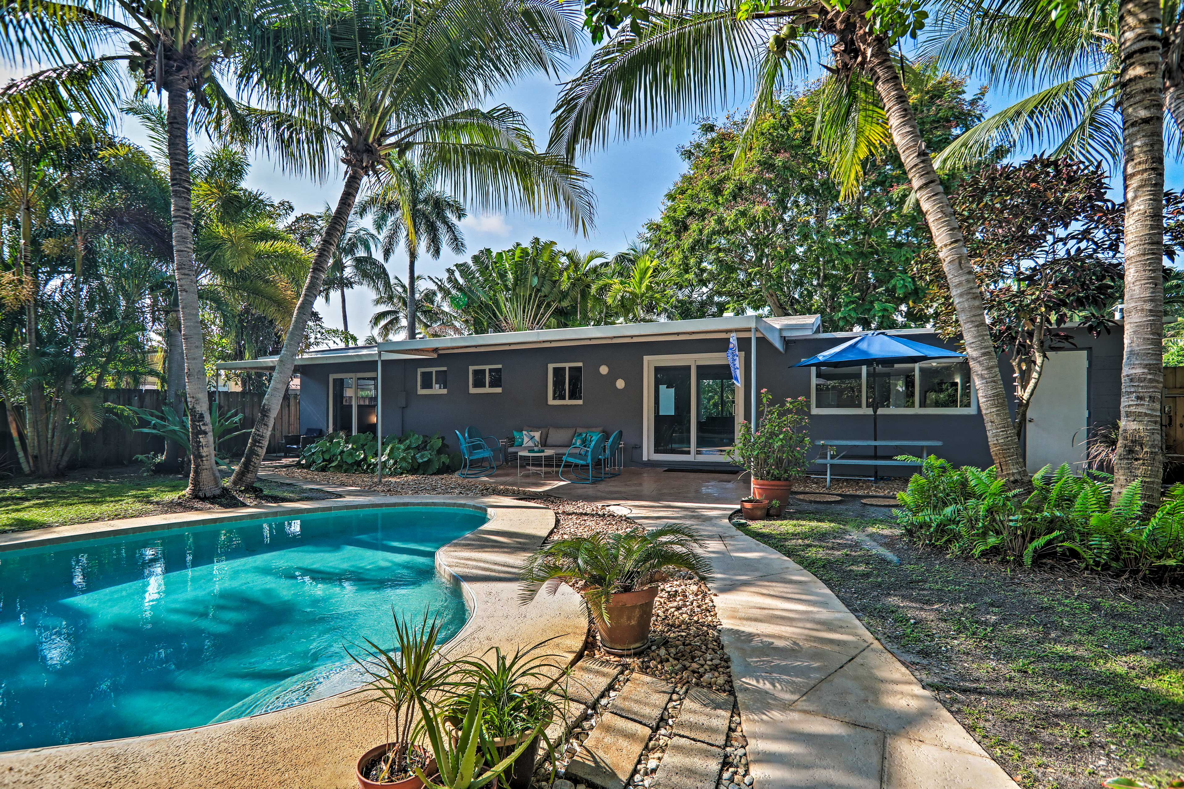 A private Sunshine State oasis awaits 6 guests at this vacation rental house!