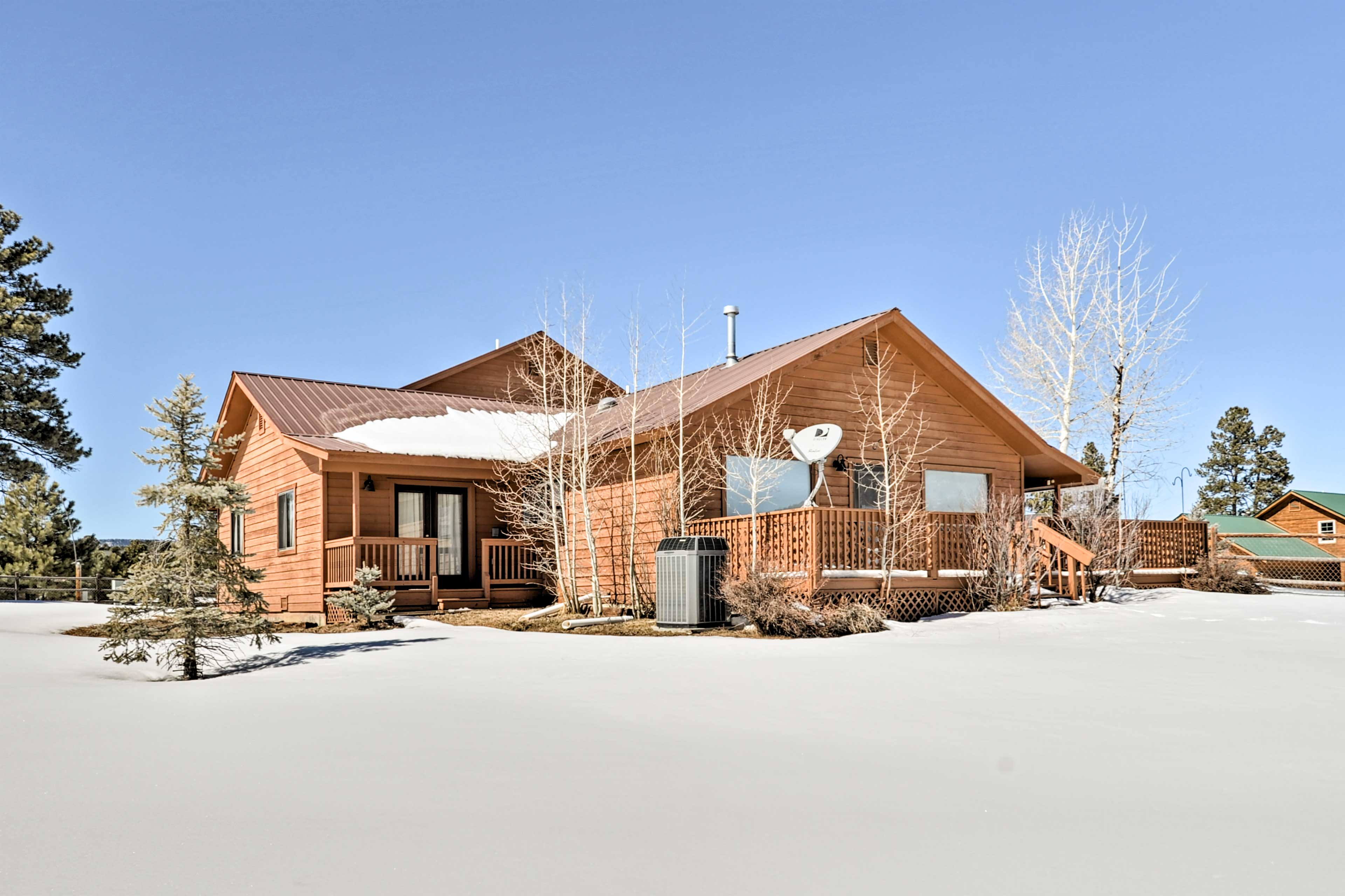 Dive into a state of relaxation at this Pagosa Springs property!