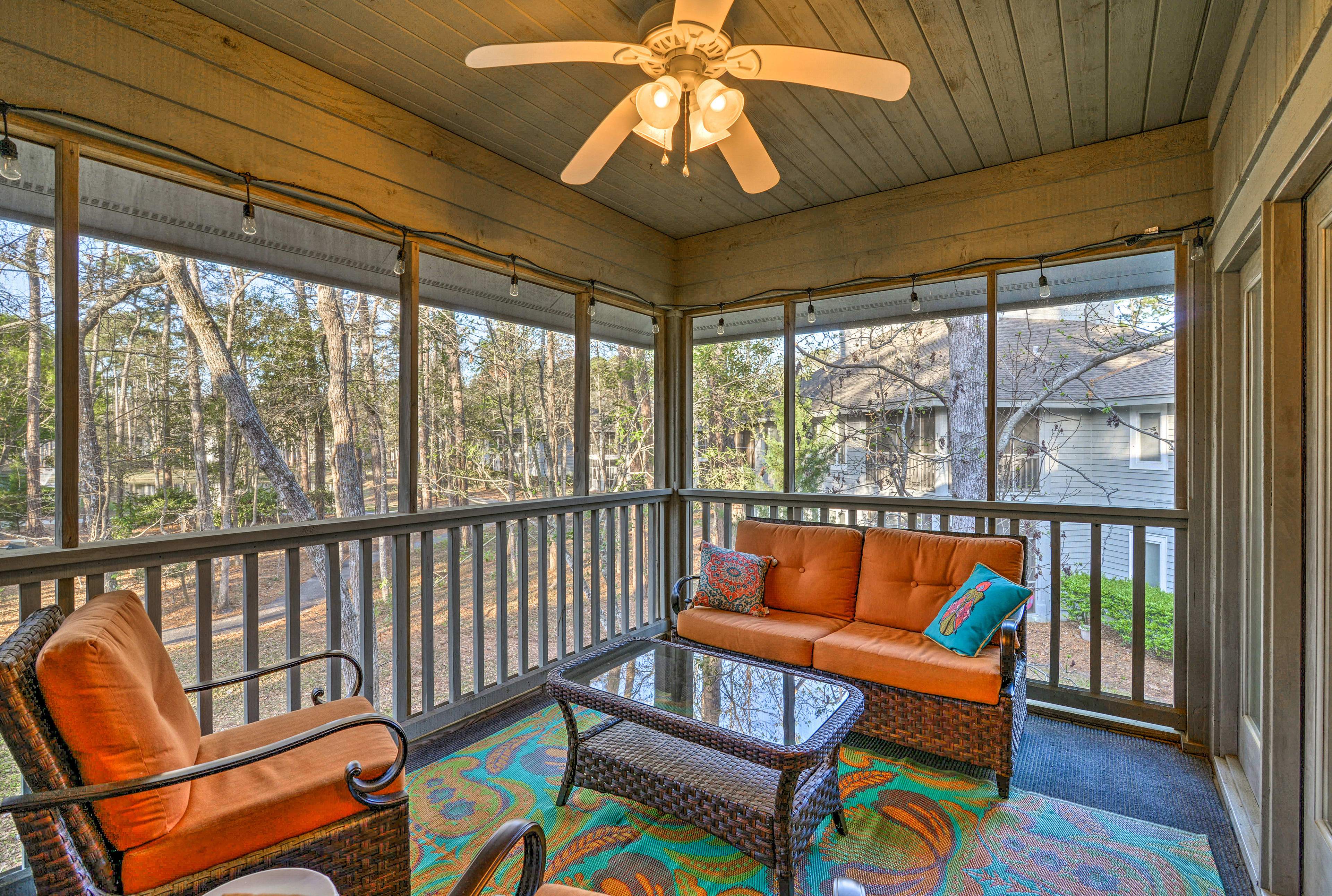 The North Myrtle Beach vacation rental has everything you need for your holiday.