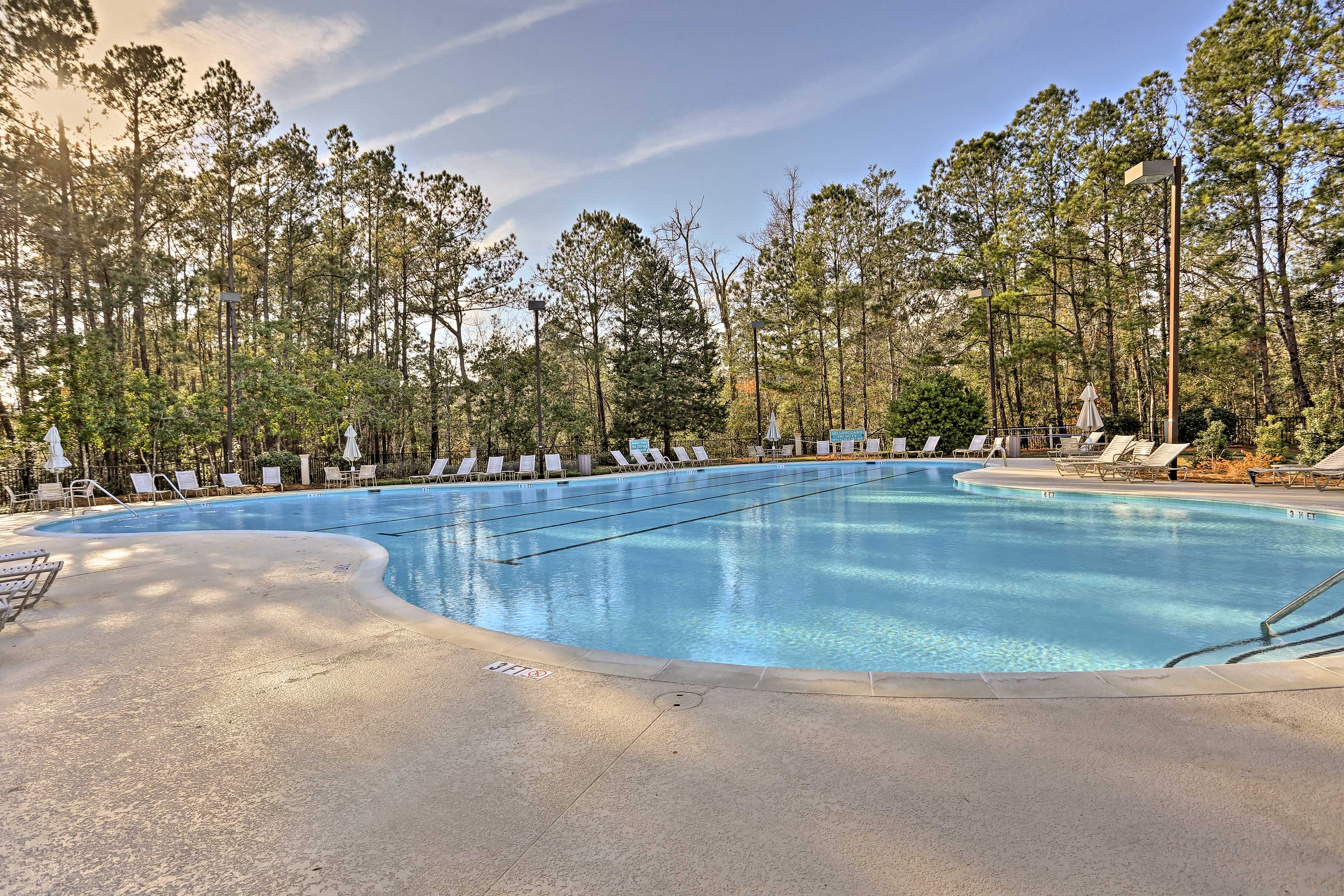 You'll love all the luxuries of the Tidewater Plantation community.