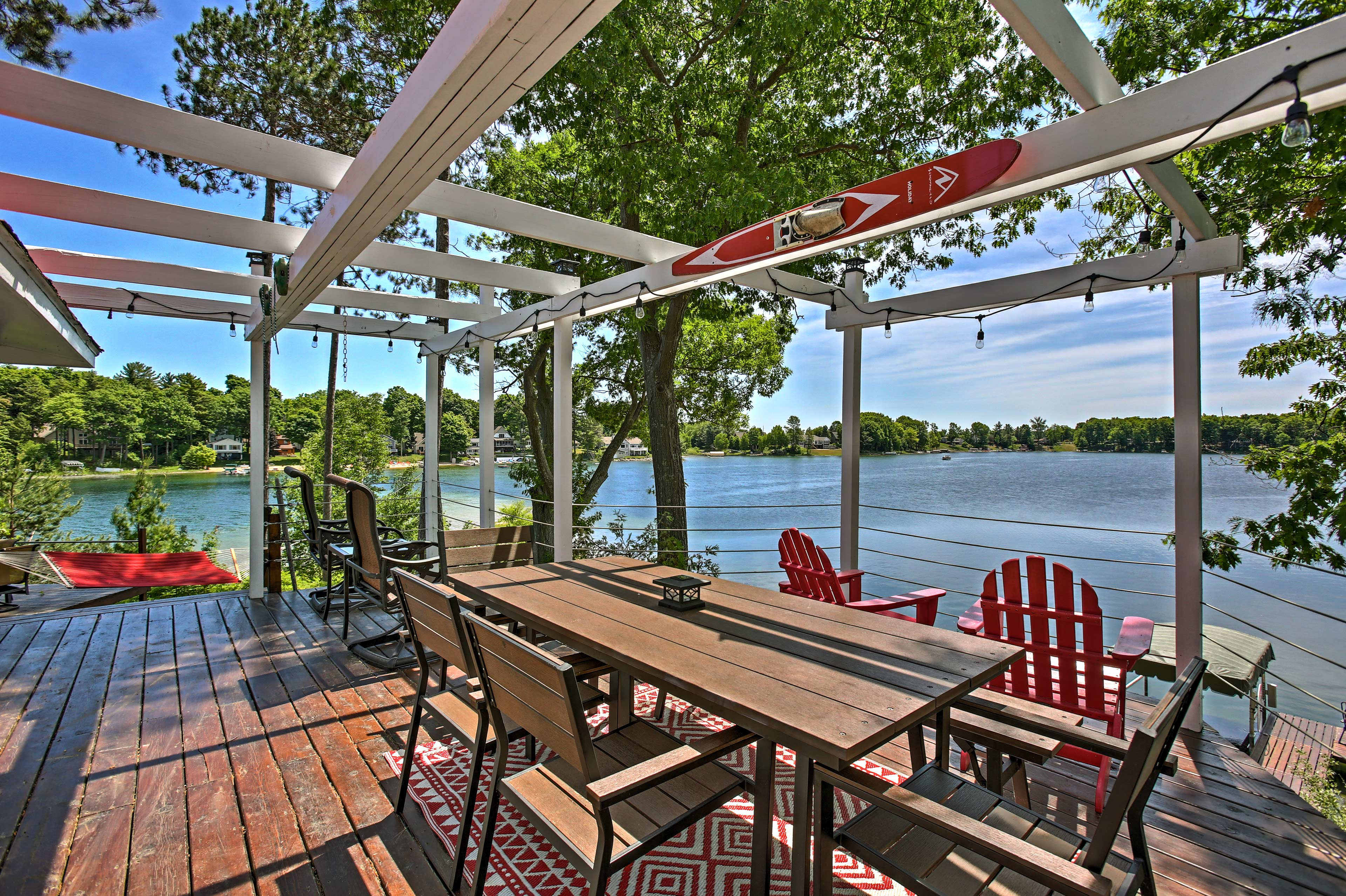 Unwind in this 2-bedroom, 1.5-bathroom vacation rental cottage in Traverse City.