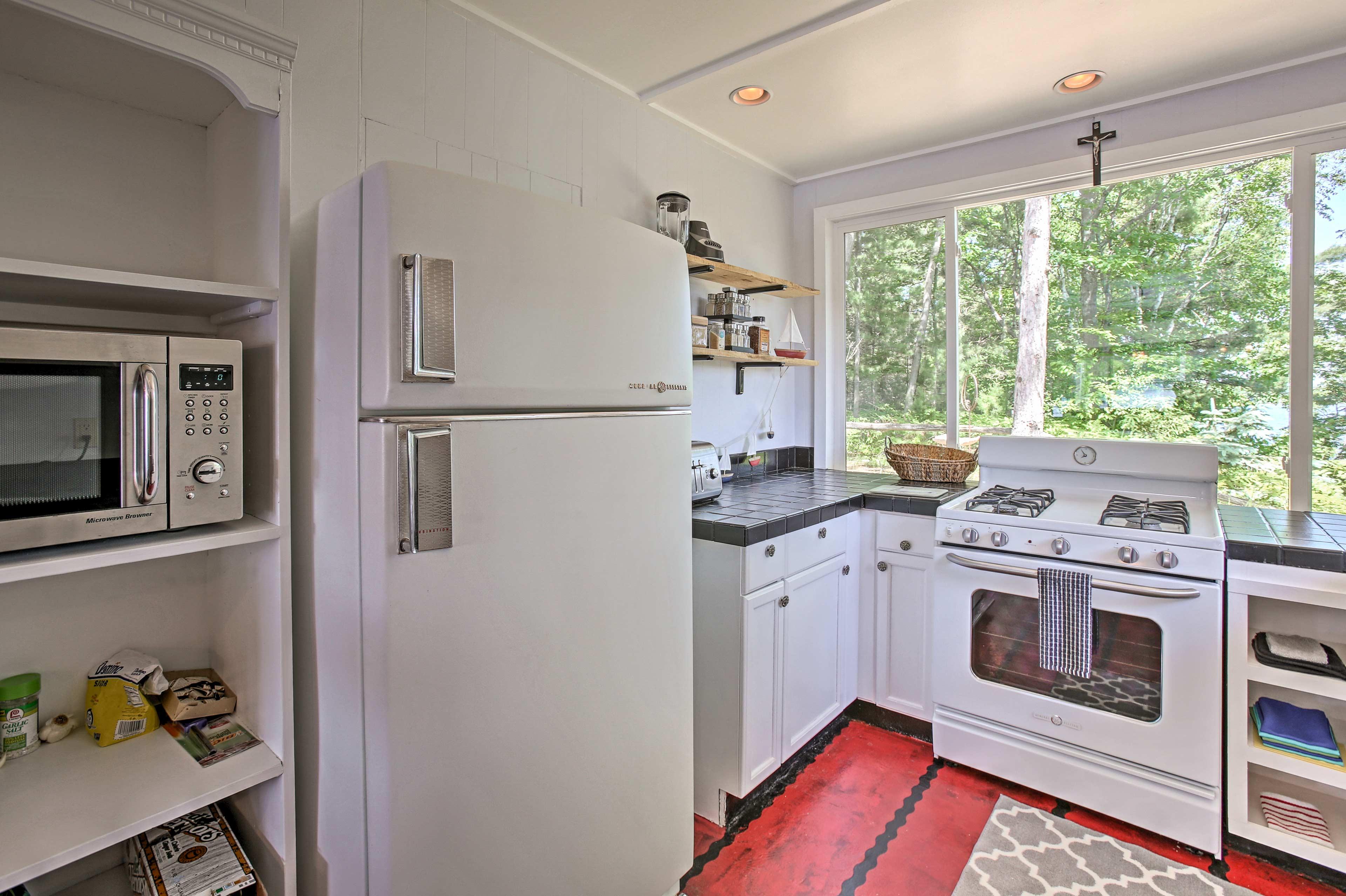 You'll love this lavish kitchen.