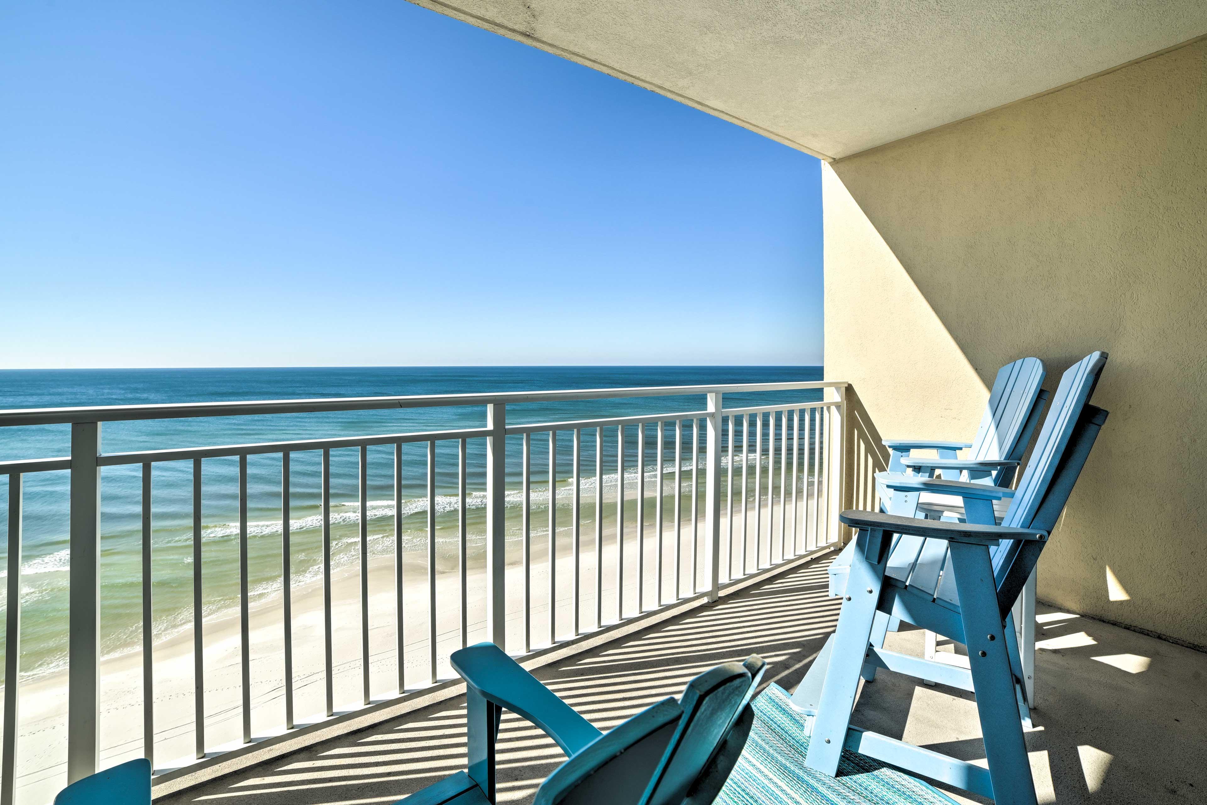 Private Balcony | Beach View