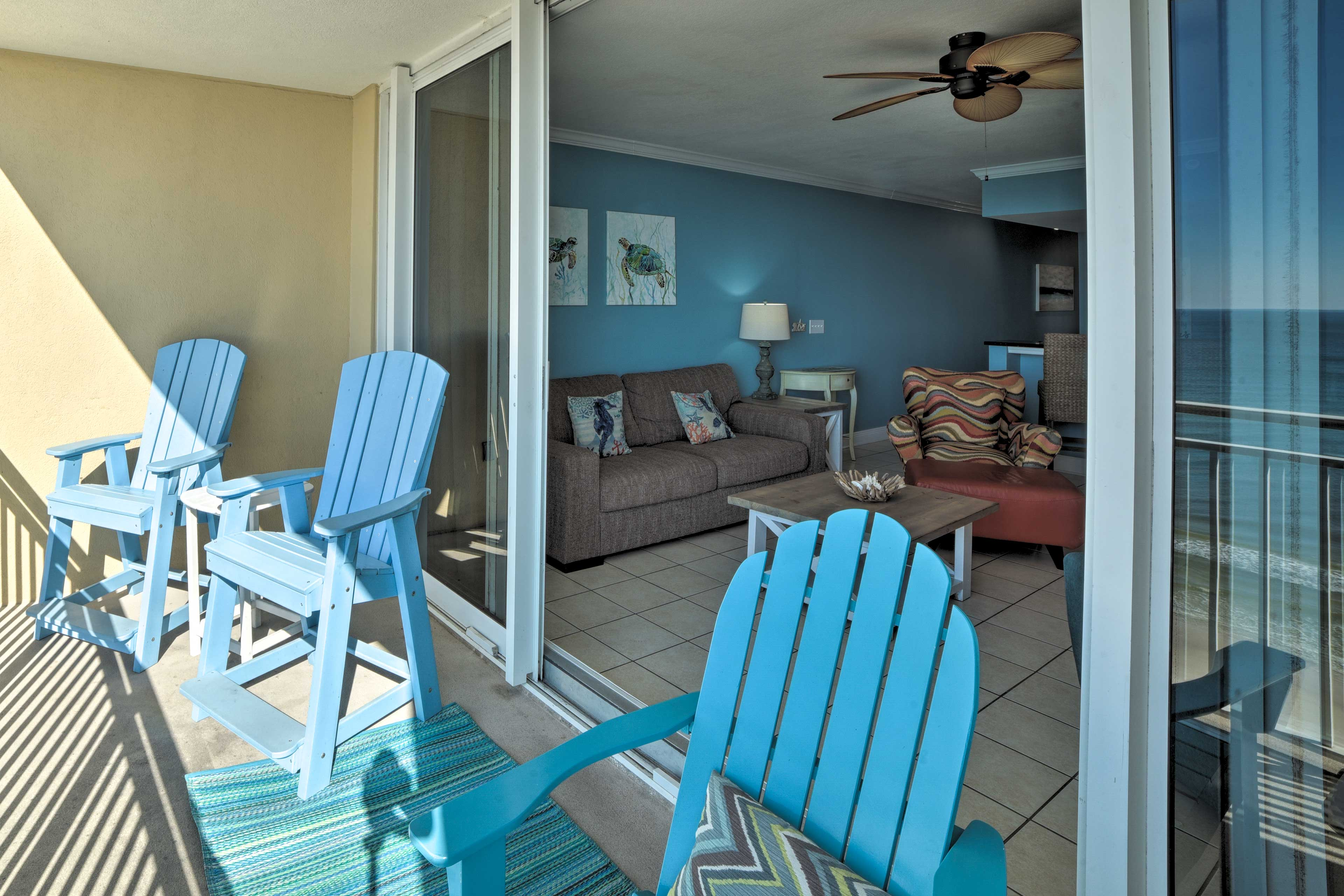 Private Balcony | Furnished
