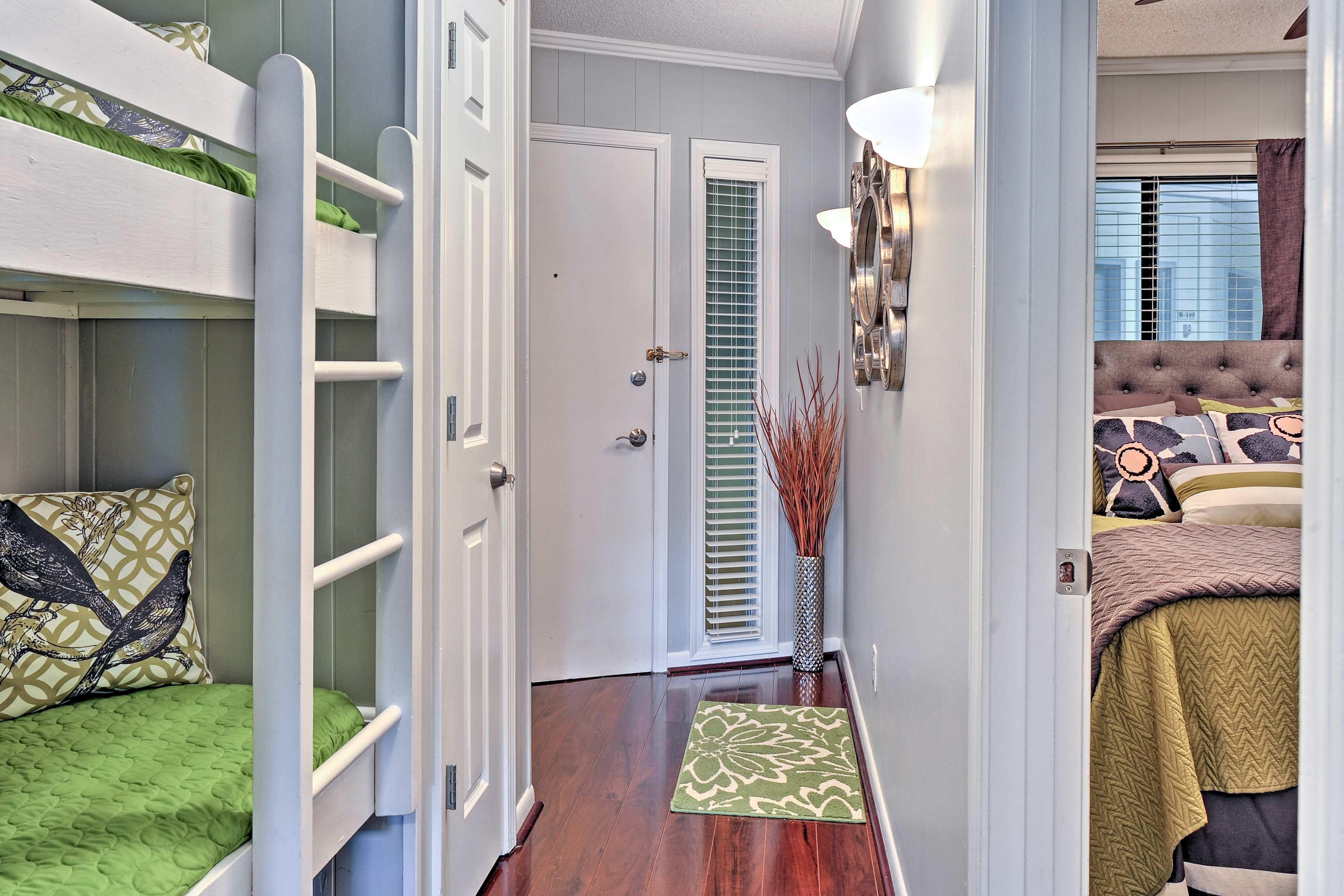 Hallway | Central A/C