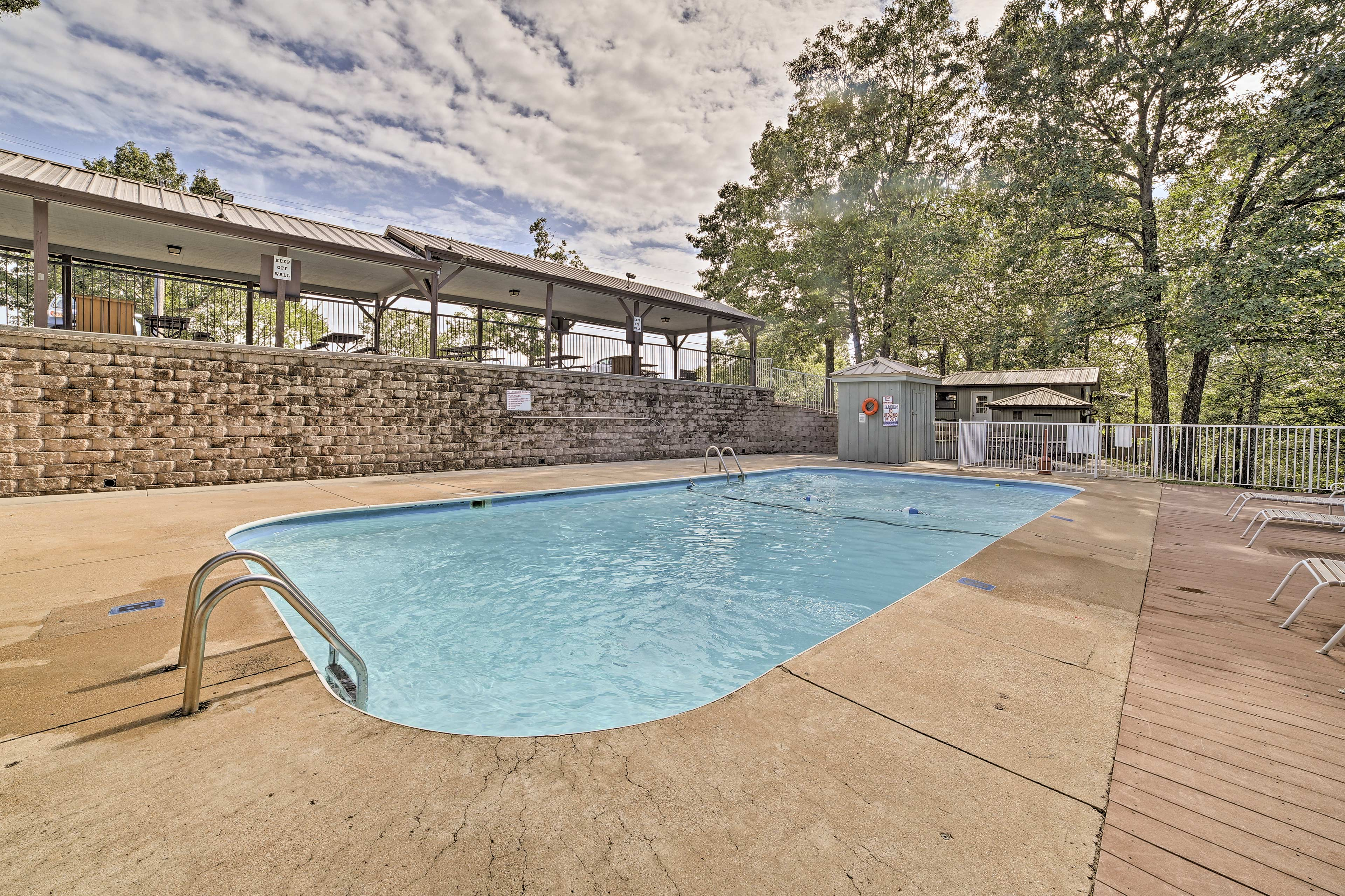 Spend the day by one of 2 community pools!