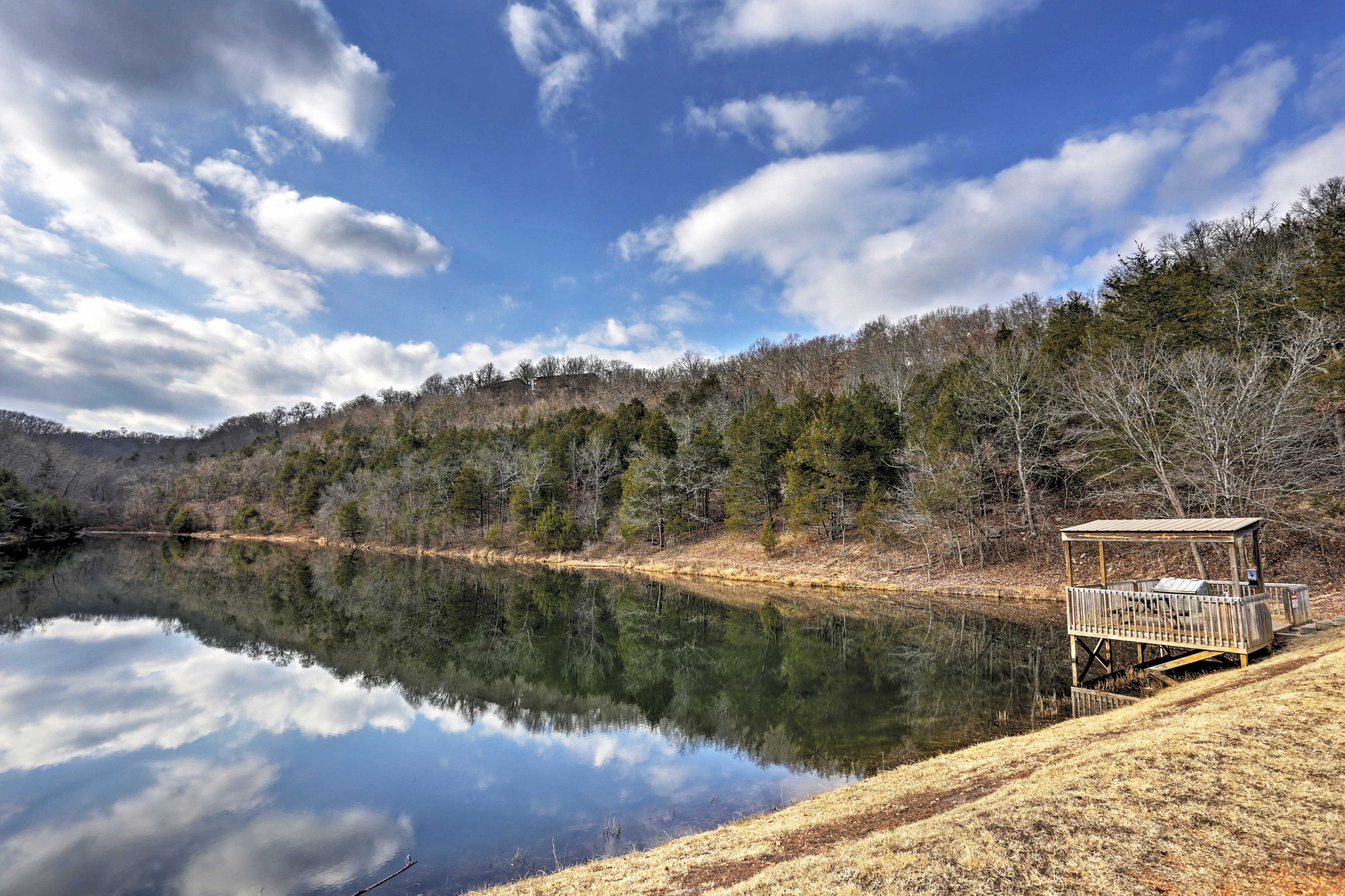Spend the day fishing the 5-acre catch and release lake!