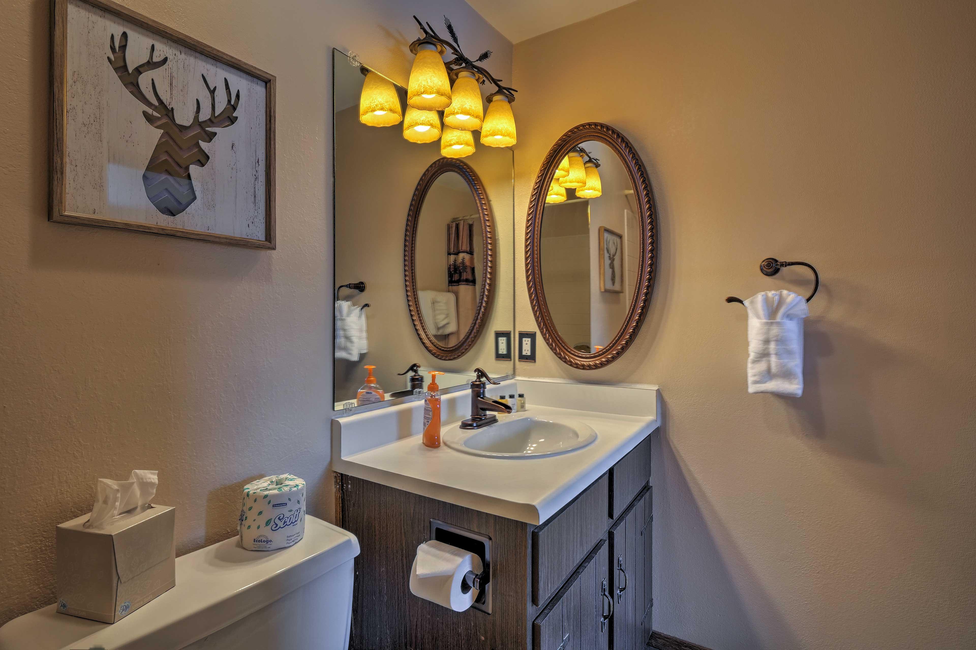 Enjoy the convenience of an en-suite bathroom.