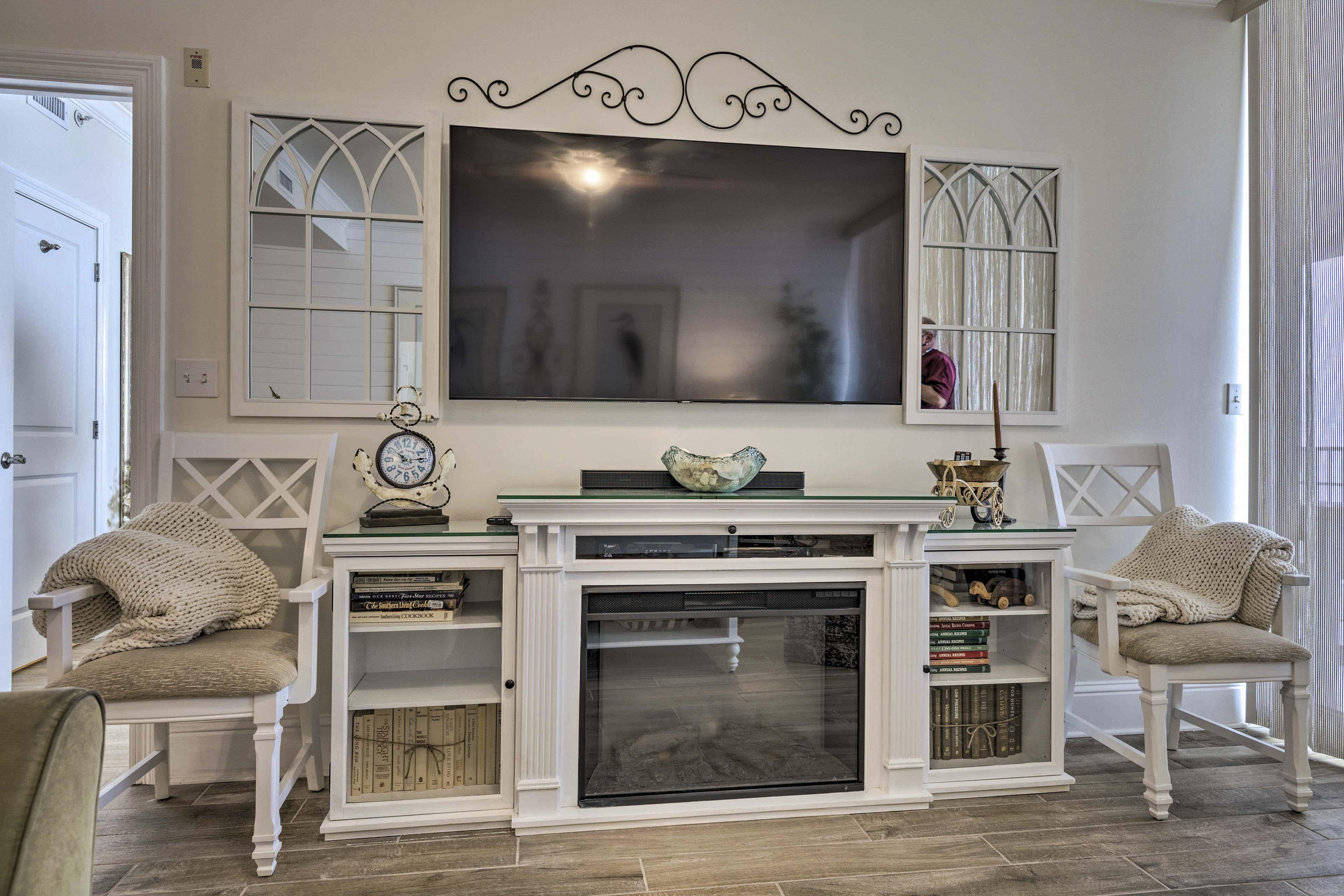 Living Room | Satellite TV