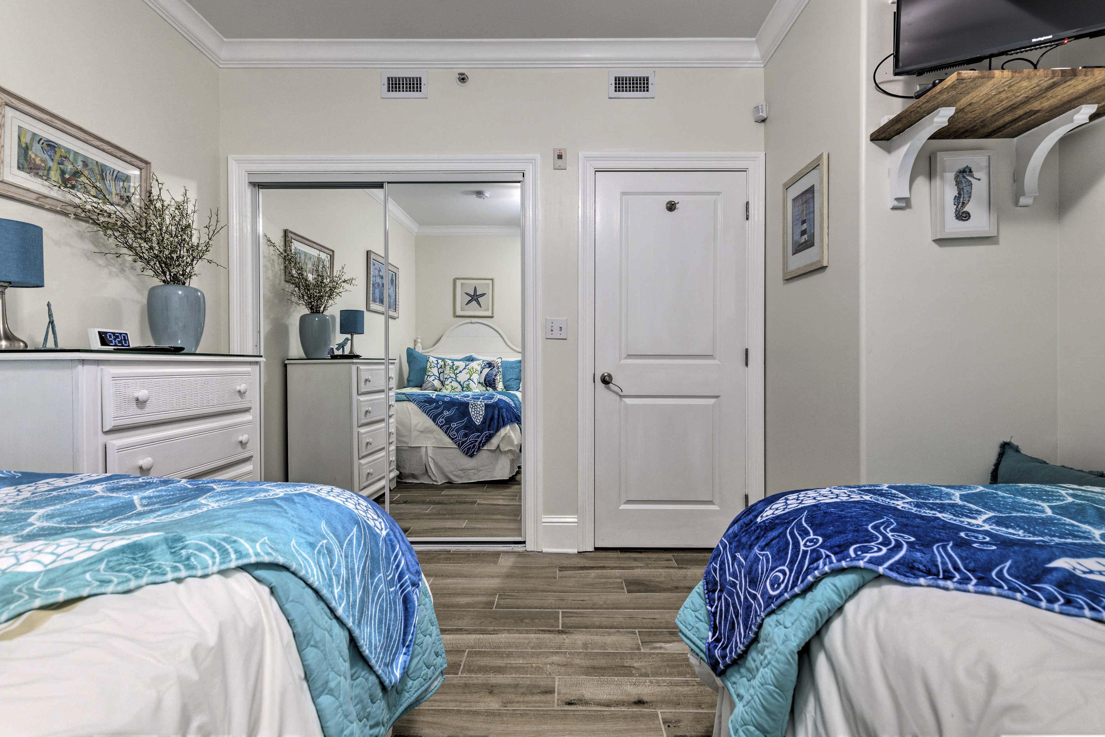 Bedroom 3 | Satellite TV
