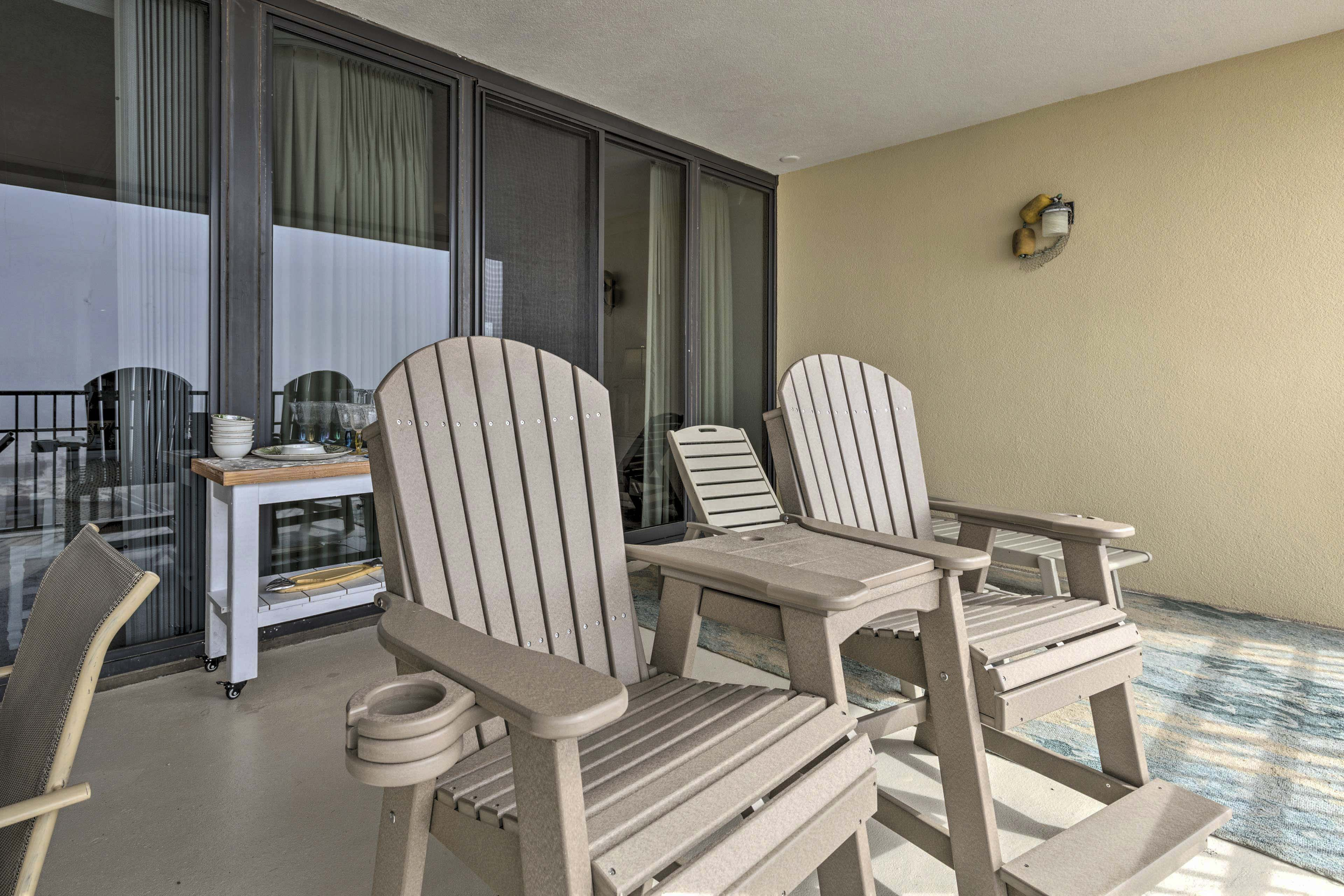 Private Balcony | Fully Furnished