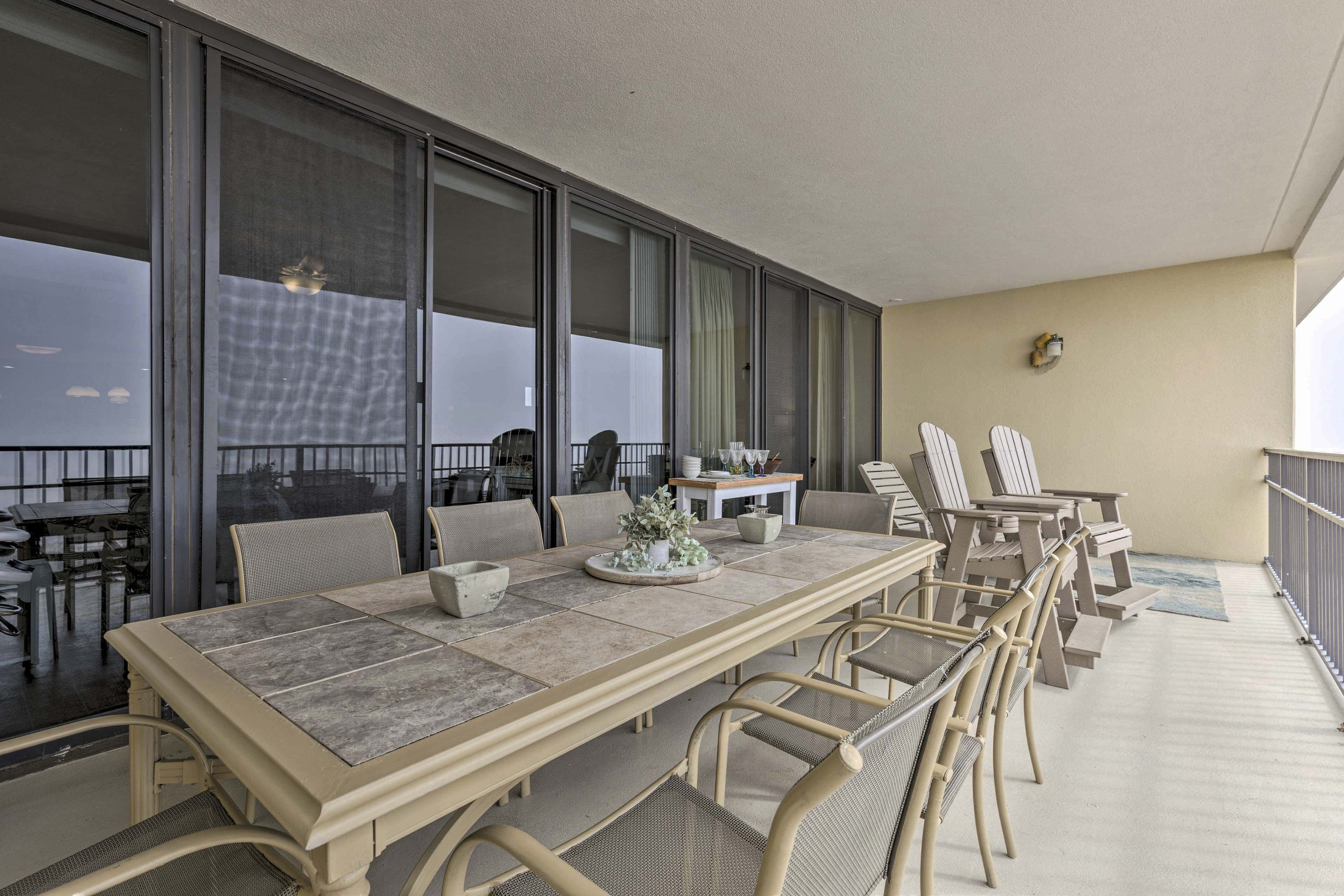 Private Balcony | Outdoor Dining Area