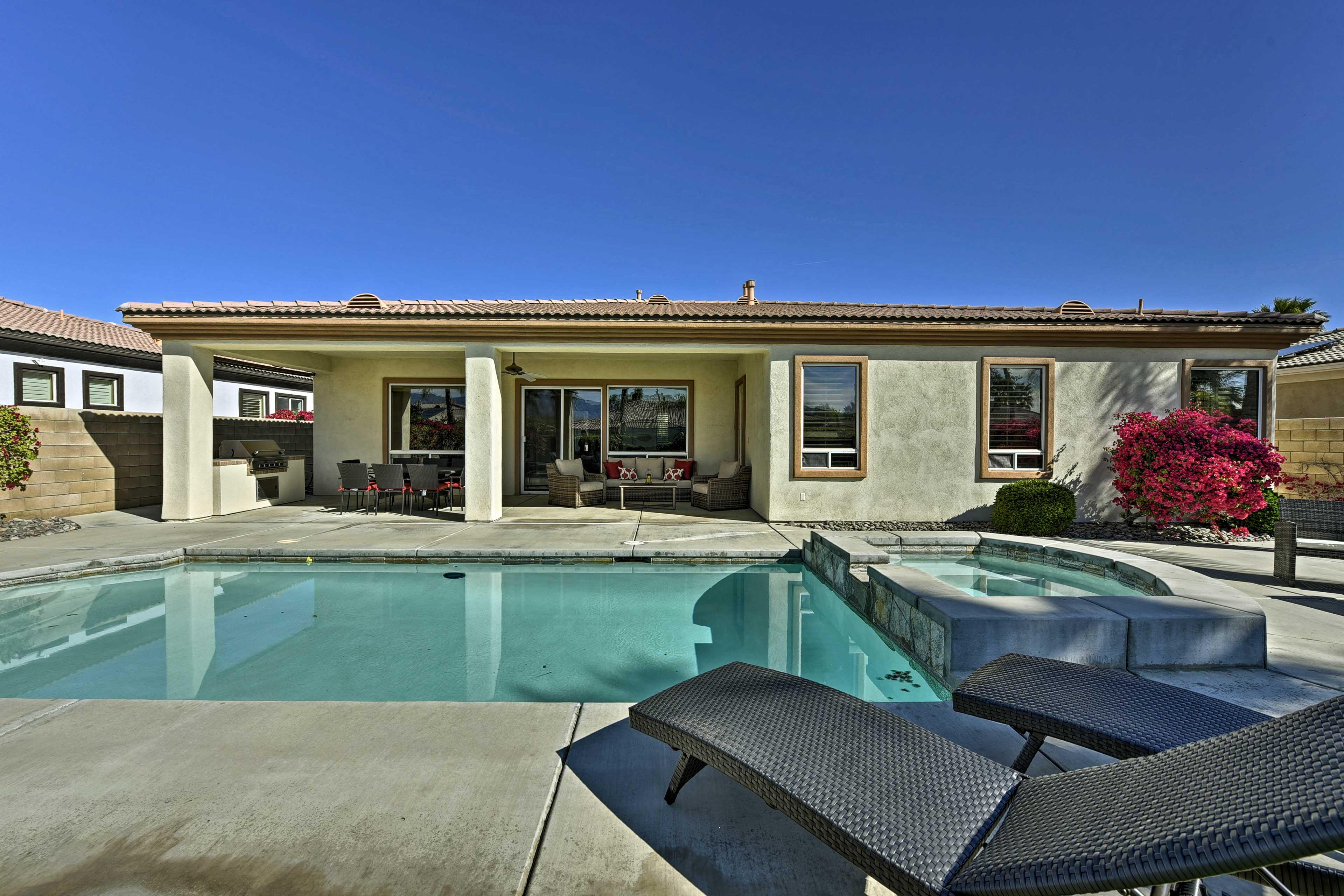 You'll be Californian dreamin' at this vacation rental.