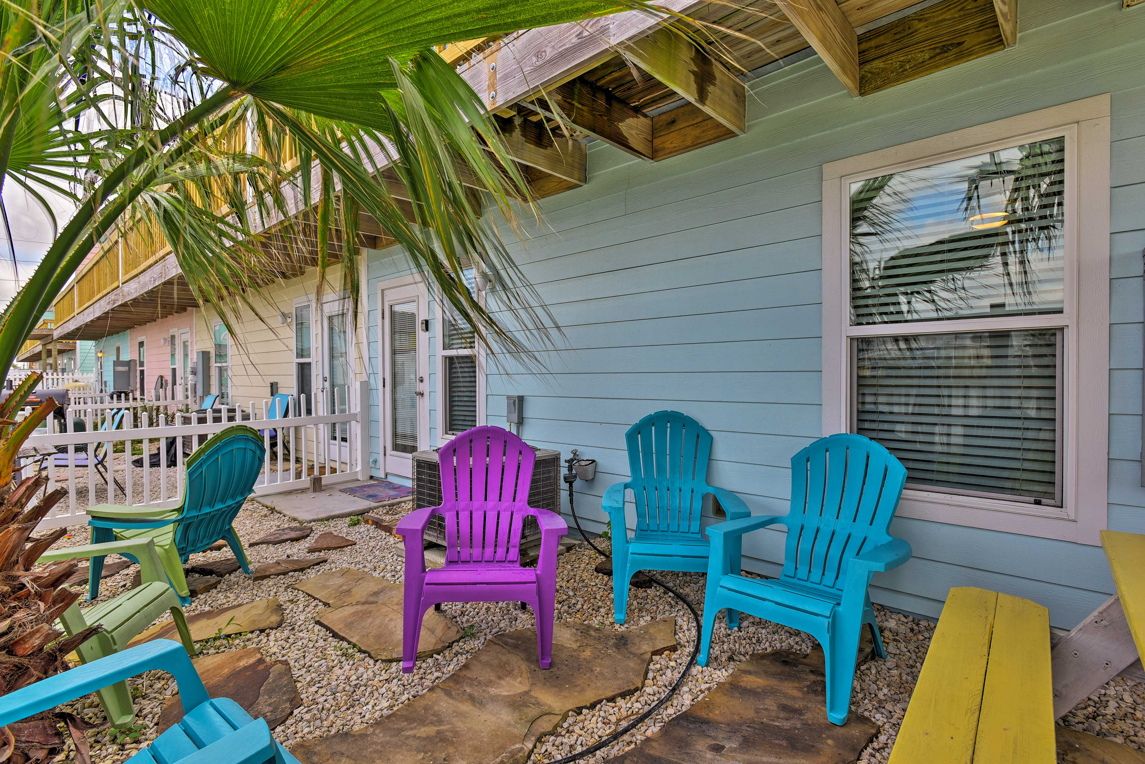 This vacation rental condo offers 4 bedrooms and 3 baths for 8 guests.
