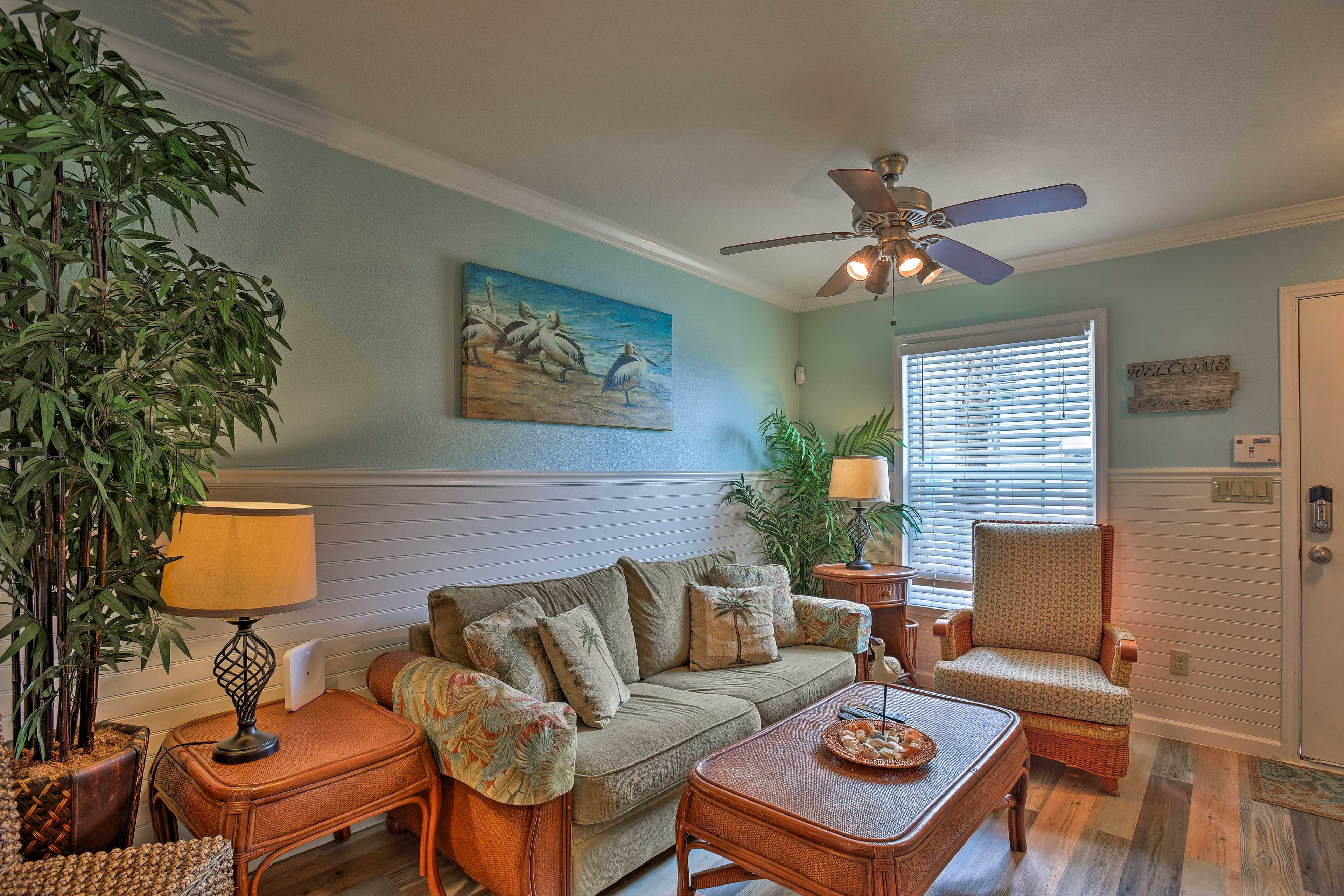 There's 1,554 square feet of comfortable living space to enjoy.