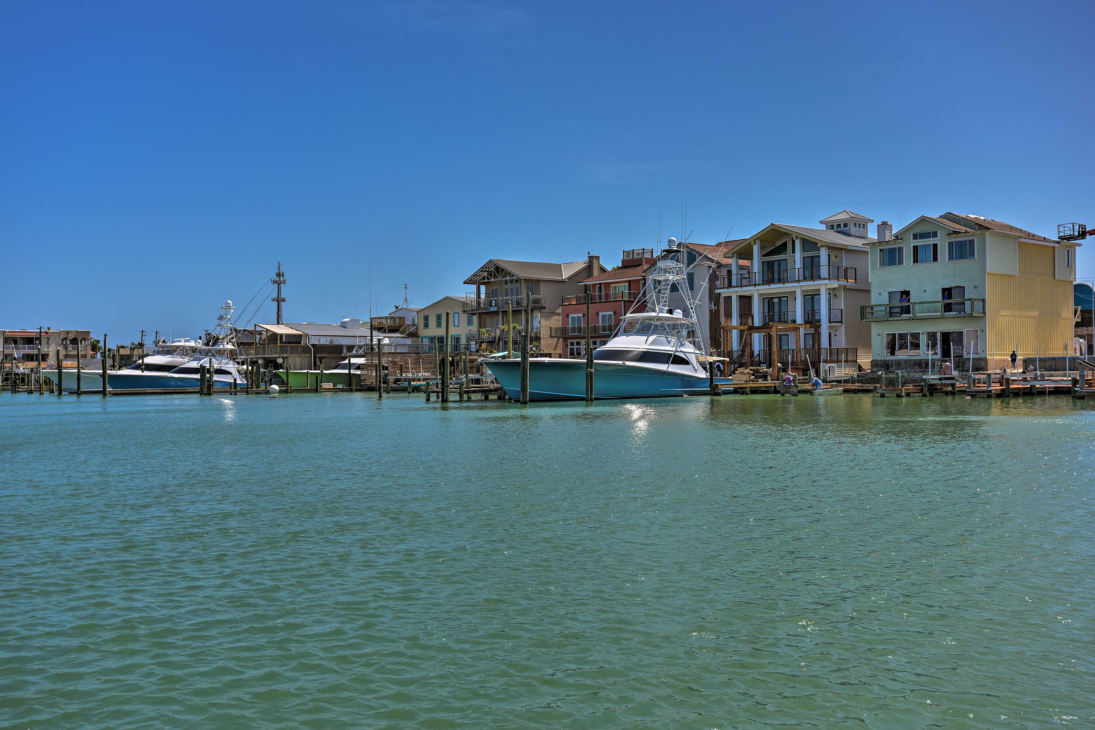 Port Aransas is home to beaches, restaurants, golf courses and more.