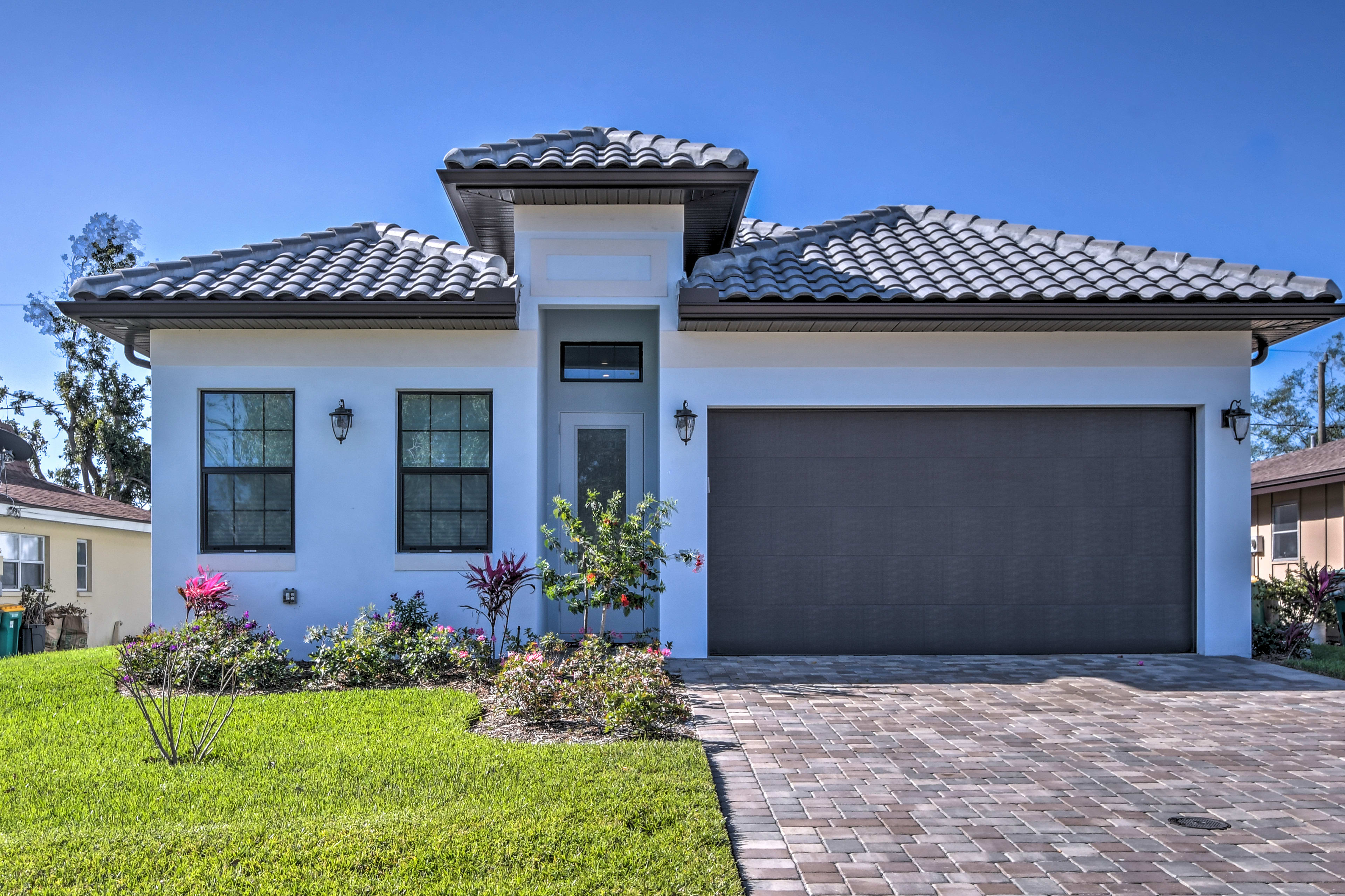 The beautiful home is located just 2 miles from Vanderbilt Beach!