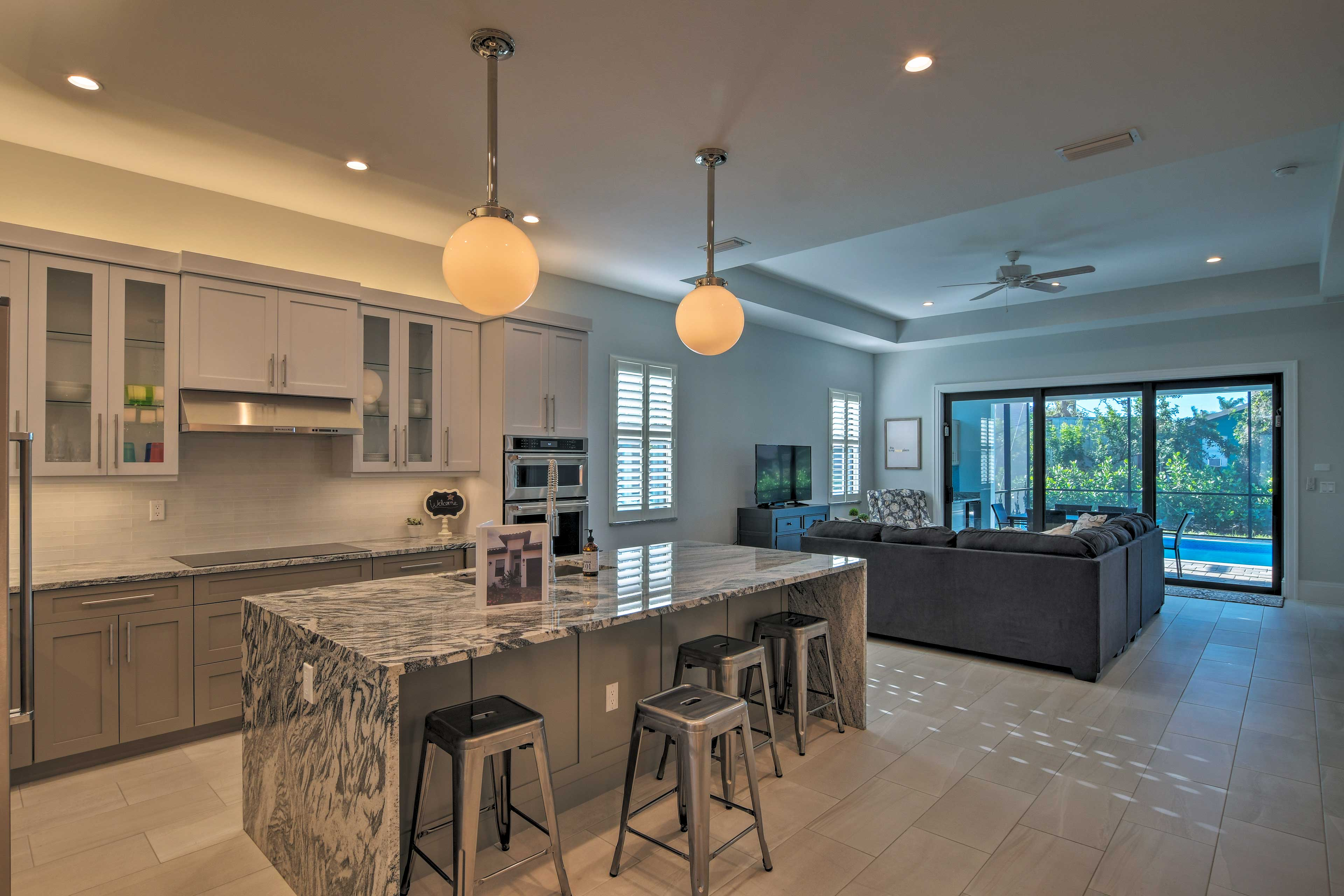 Boasting 2,121 square feet, this spacious home accommodates up to 7!