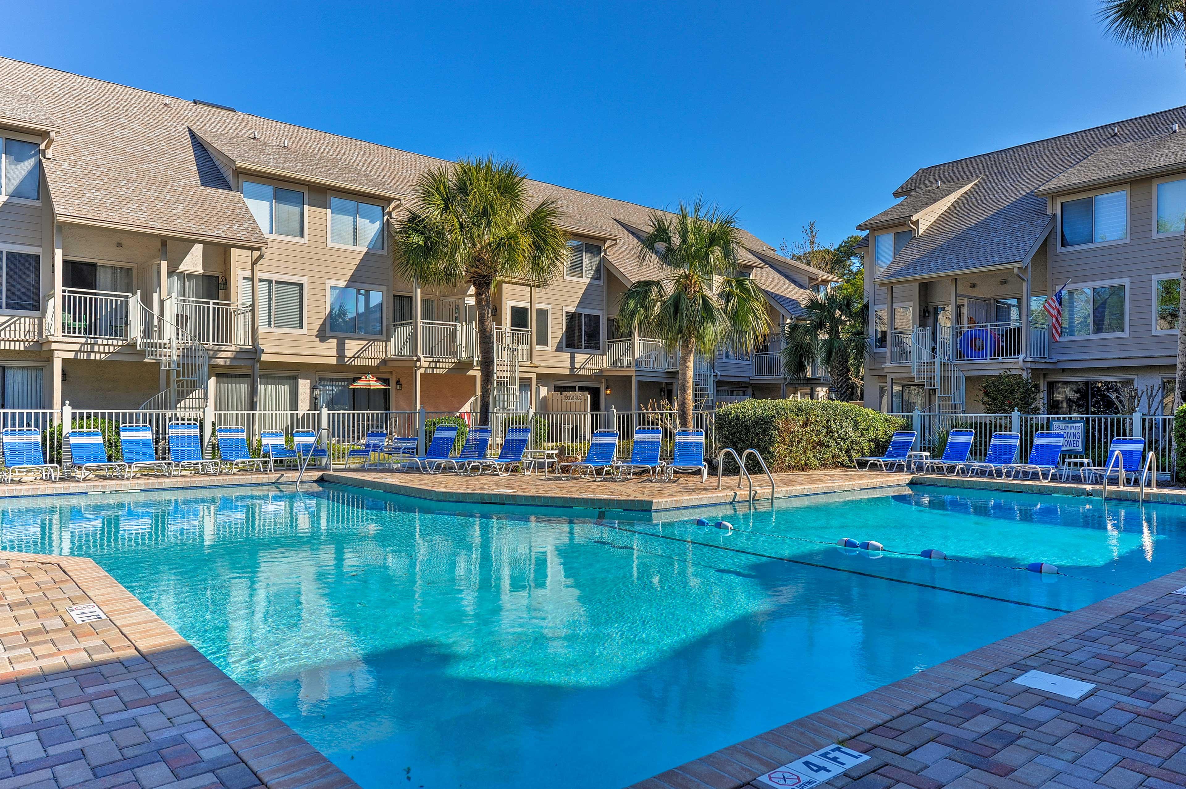 Hilton Head Vacation Rental   2BR   2BA   2 Stories   1,300 Sq Ft
