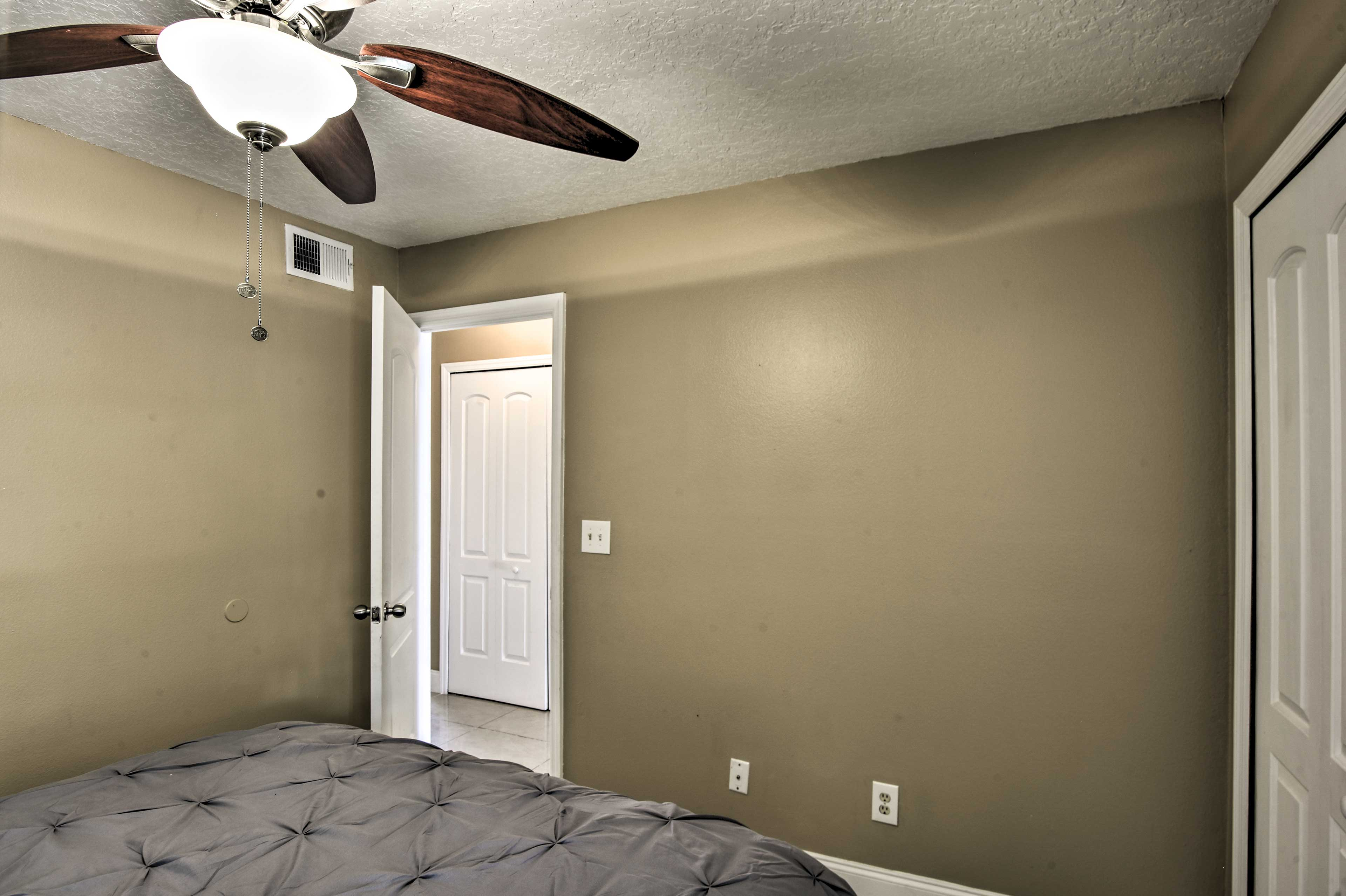 Enjoy the privacy of 3 separate bedrooms.
