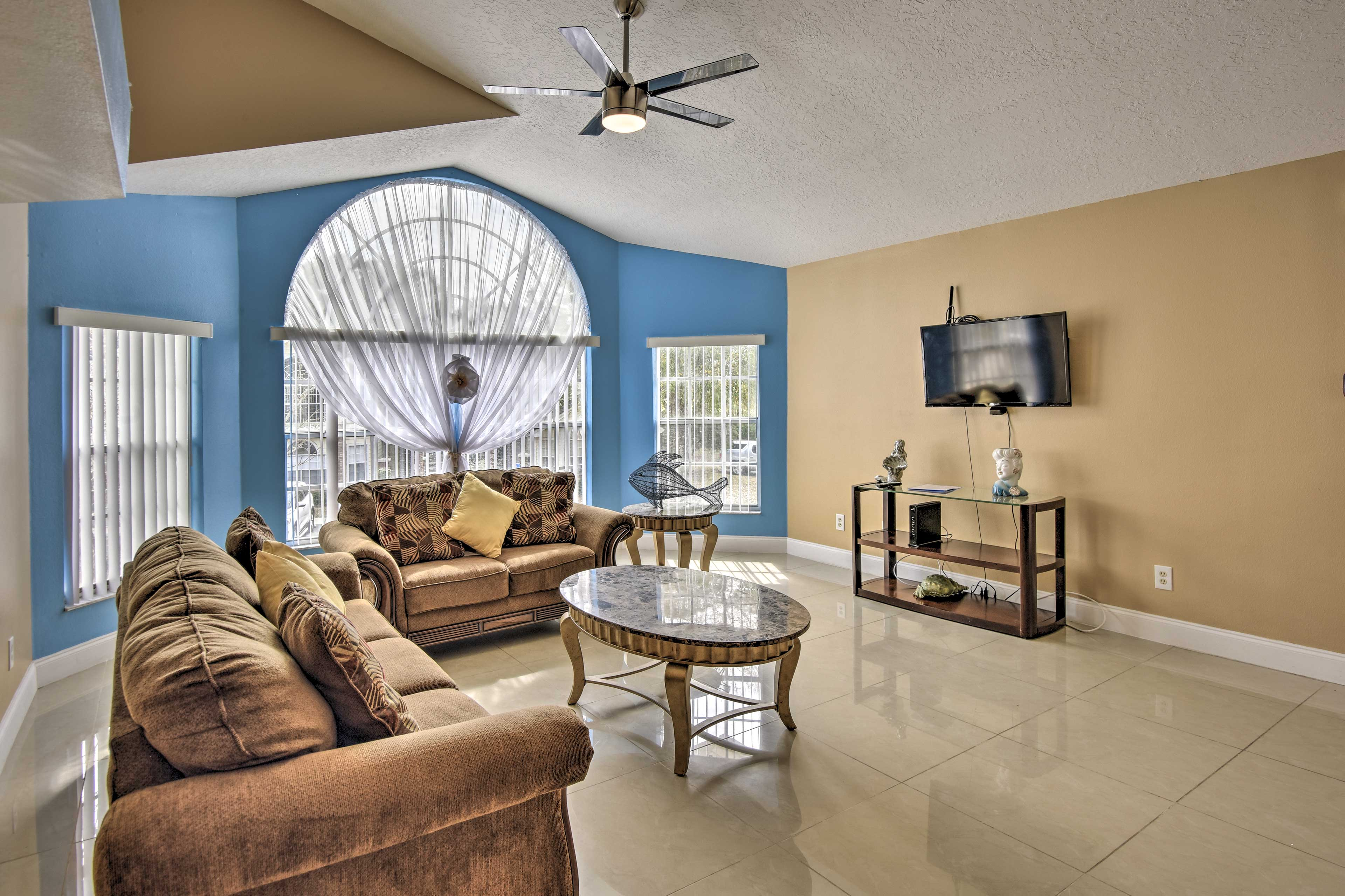 The property offers 1,220 square feet of living space!