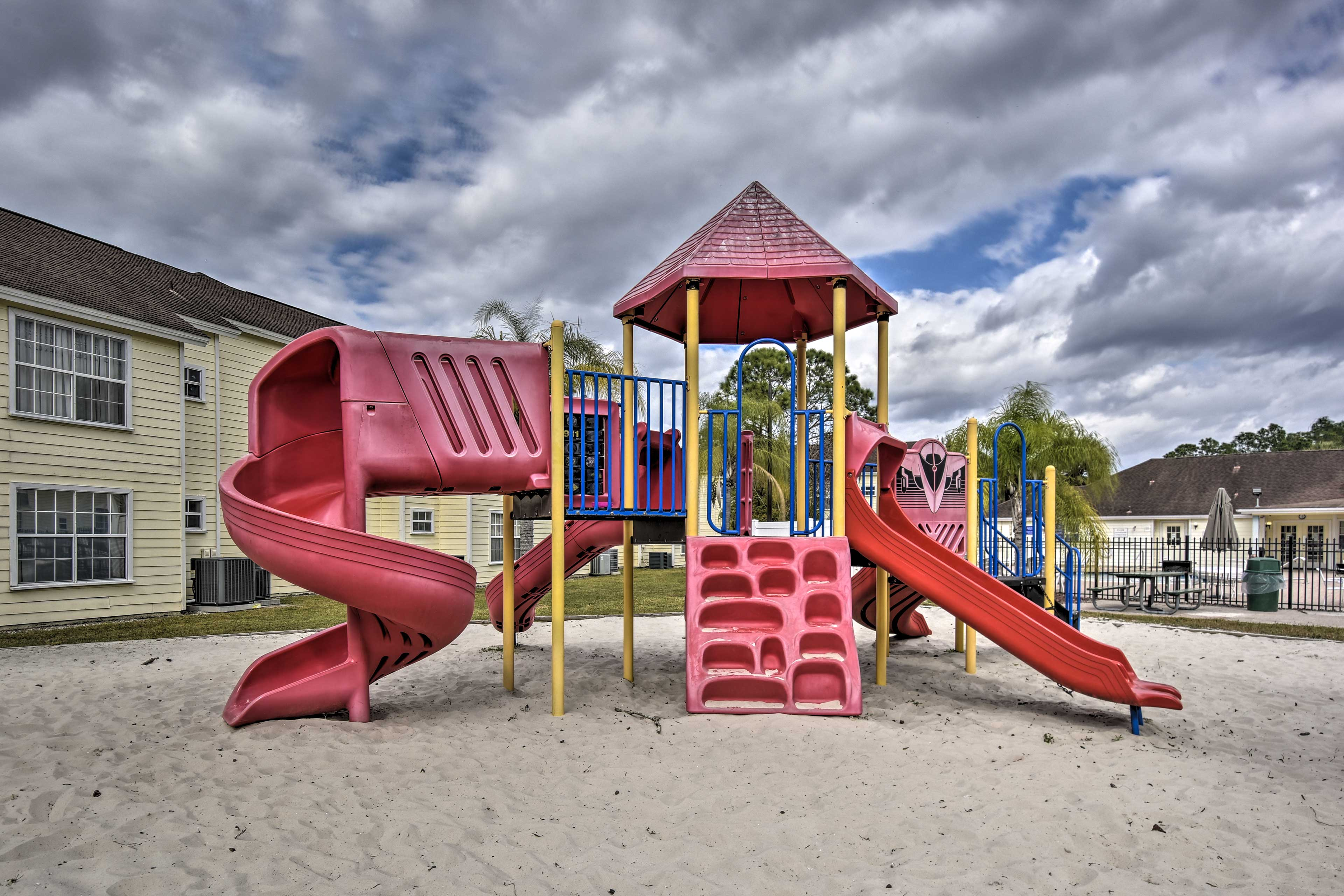 Take the kids to the playground to burn off that last bit of energy.