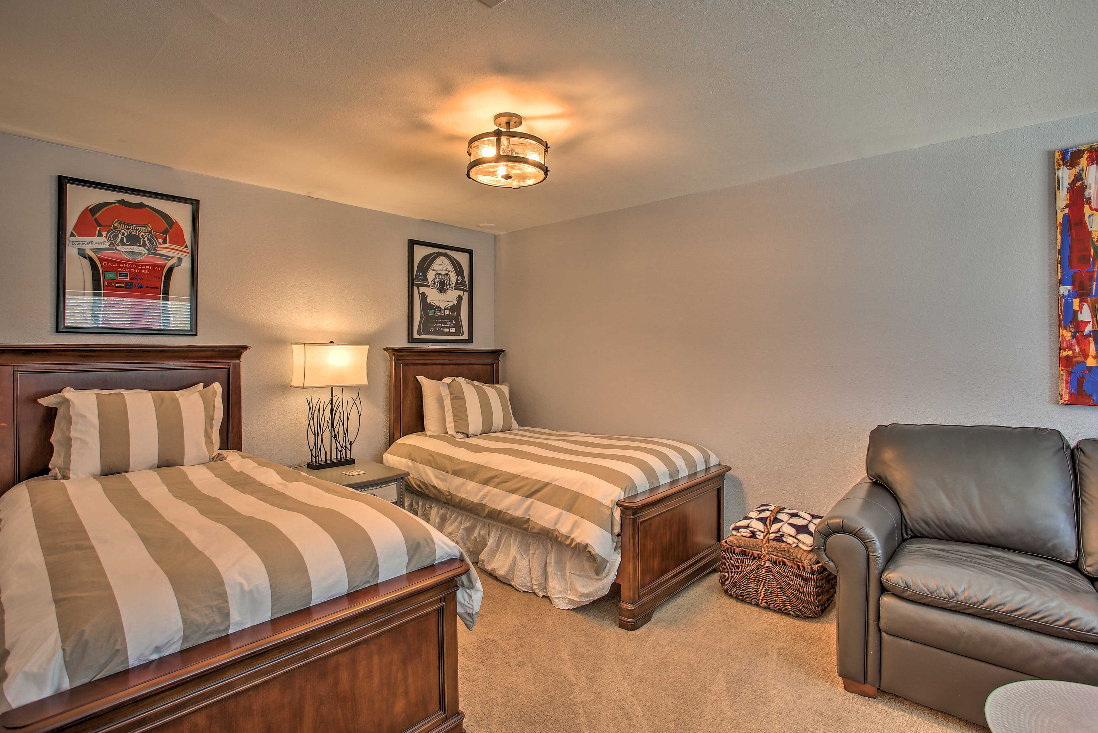 This room has been newly remodeled!