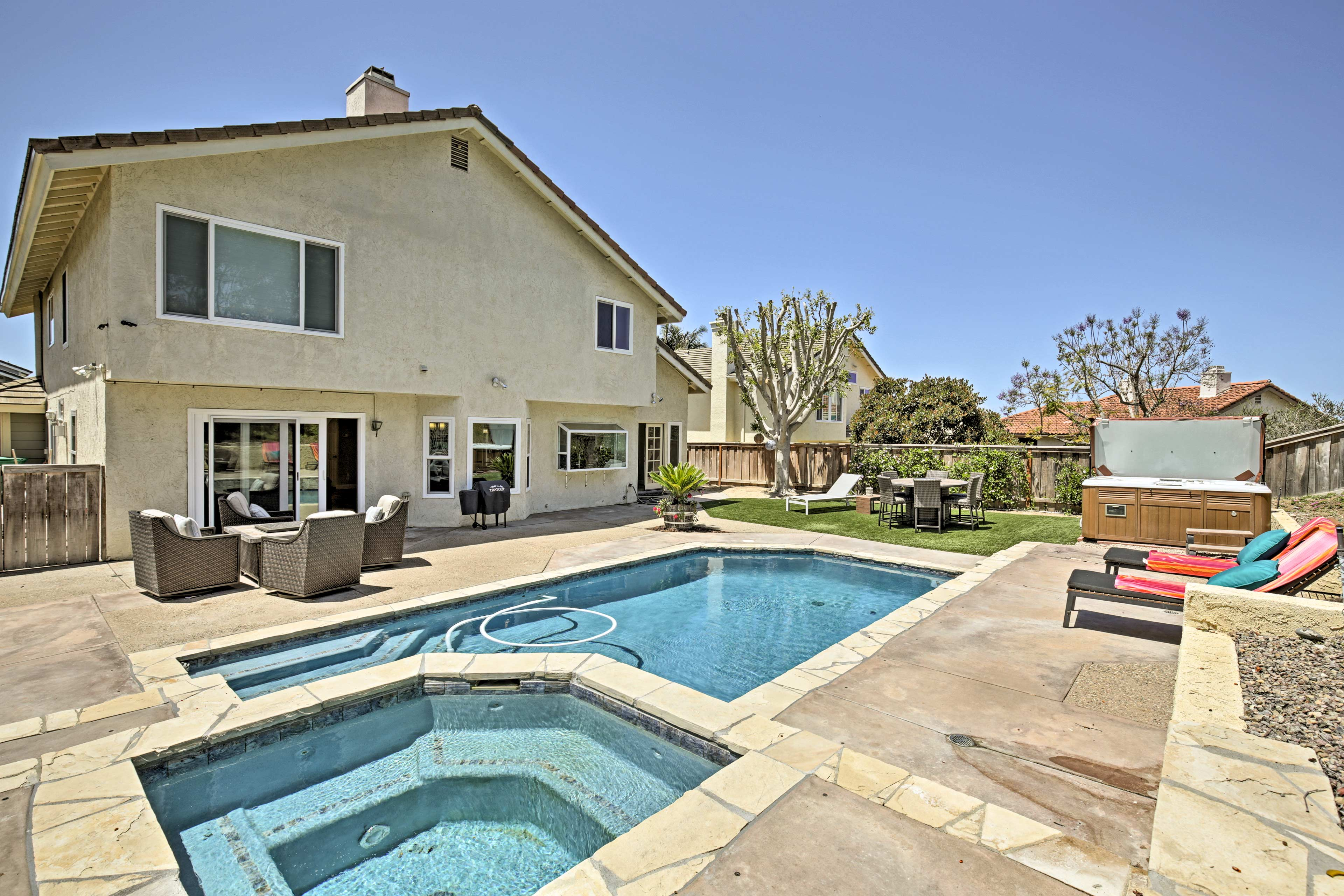 Stay in 'America's Finest City' at this 4-bed, 3.5-bath vacation rental house!